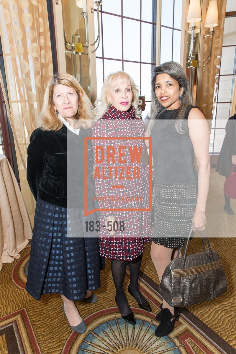 Emely Weissman, Judith Renard, Deepa Pakianathan, San Francisco Opera Guild Annual Meeting & Luncheon, The Westin St. Francis Union Square. 335 Powell St, November 10th, 2015,Drew Altizer, Drew Altizer Photography, full-service agency, private events, San Francisco photographer, photographer california