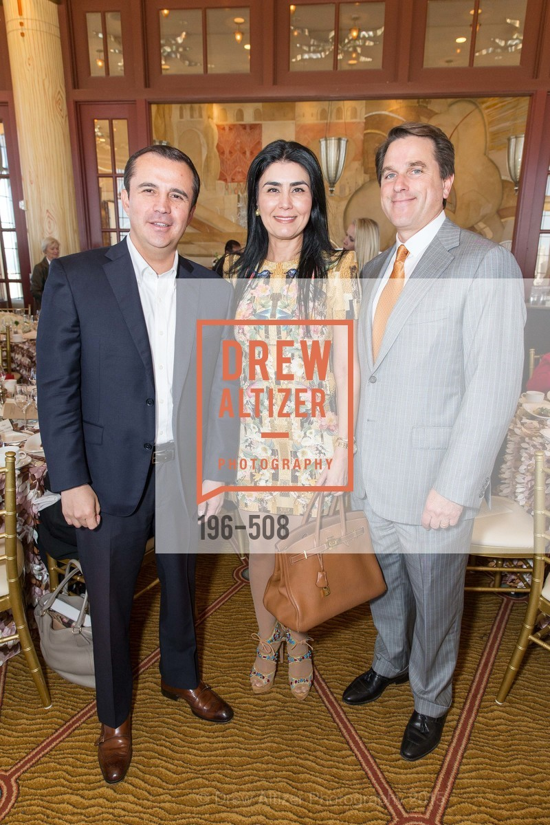 Jorge Jaramillo, Afsaneh Akhtari, Gregory Malin, San Francisco Opera Guild Annual Meeting & Luncheon, The Westin St. Francis Union Square. 335 Powell St, November 10th, 2015