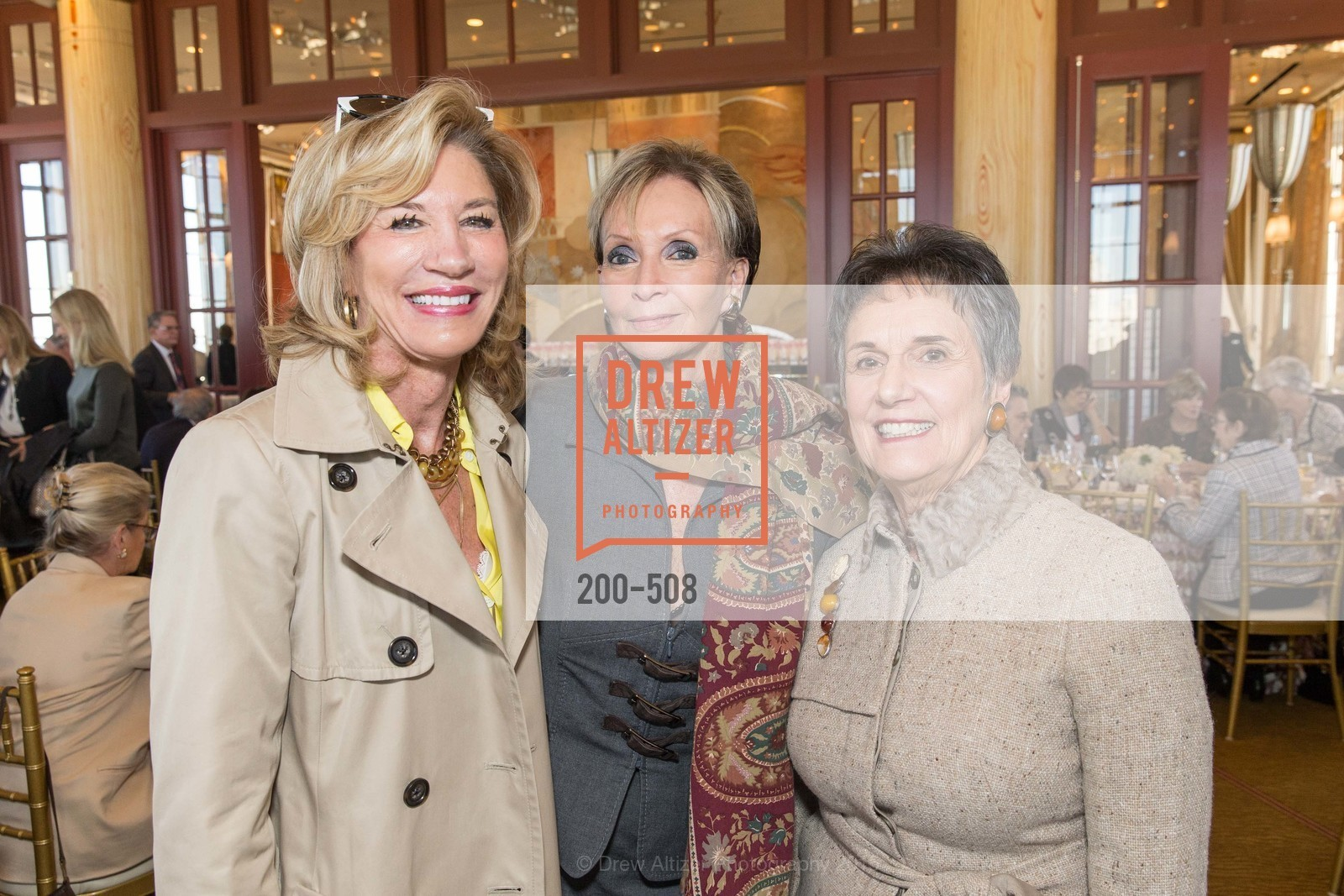 Mary Poland, Sallie Huntting, Carol Doll, San Francisco Opera Guild Annual Meeting & Luncheon, The Westin St. Francis Union Square. 335 Powell St, November 10th, 2015,Drew Altizer, Drew Altizer Photography, full-service agency, private events, San Francisco photographer, photographer california