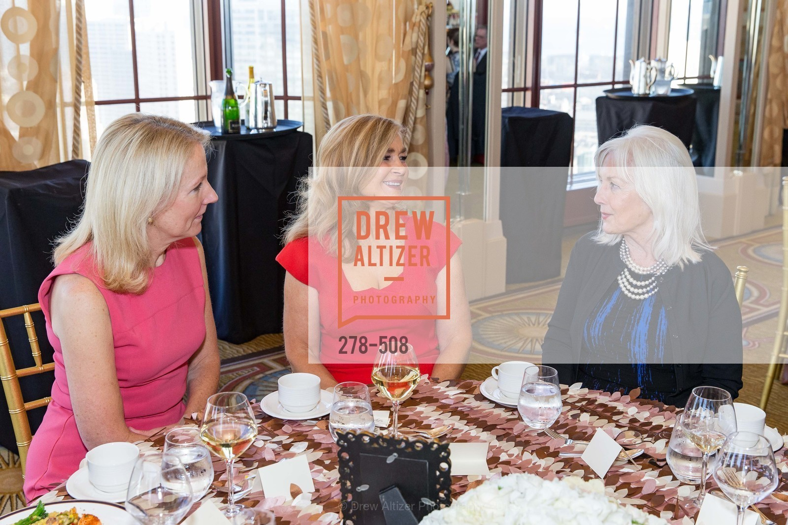 Ann Girard, Lynne Edminster, Arlene Inch, San Francisco Opera Guild Annual Meeting & Luncheon, The Westin St. Francis Union Square. 335 Powell St, November 10th, 2015,Drew Altizer, Drew Altizer Photography, full-service agency, private events, San Francisco photographer, photographer california