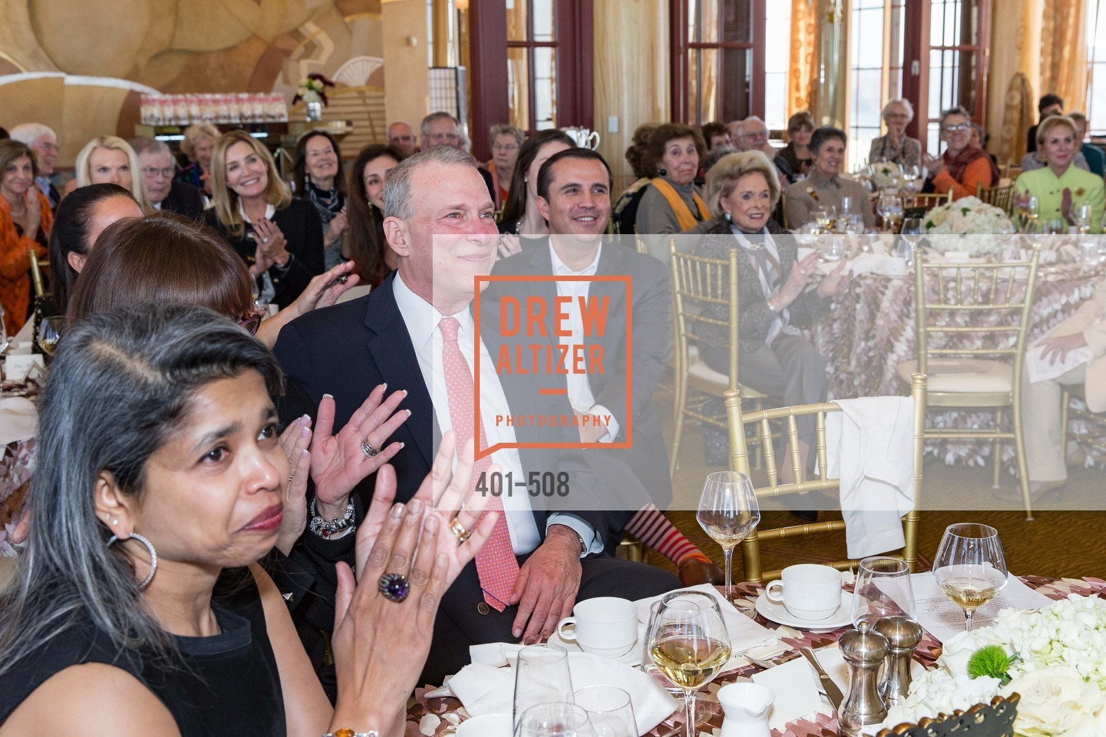 Deepa Pakianathan, David Gockley, San Francisco Opera Guild Annual Meeting & Luncheon, The Westin St. Francis Union Square. 335 Powell St, November 10th, 2015,Drew Altizer, Drew Altizer Photography, full-service agency, private events, San Francisco photographer, photographer california