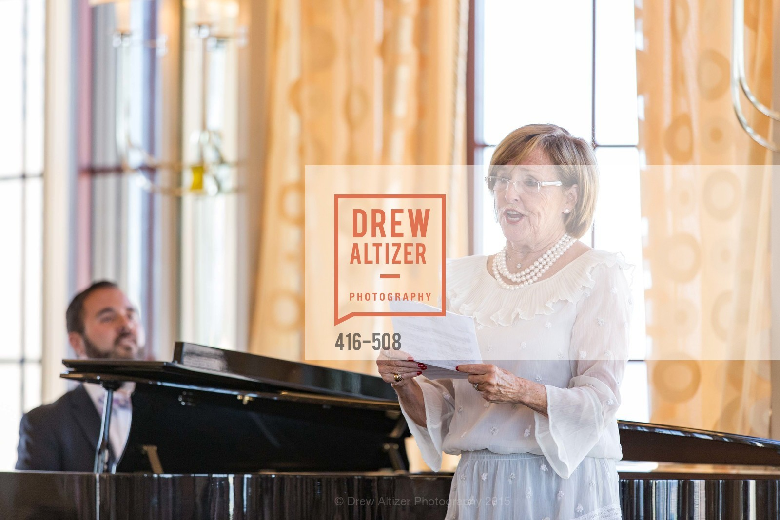 Performance By Frederica von Stade, San Francisco Opera Guild Annual Meeting & Luncheon, The Westin St. Francis Union Square. 335 Powell St, November 10th, 2015,Drew Altizer, Drew Altizer Photography, full-service agency, private events, San Francisco photographer, photographer california