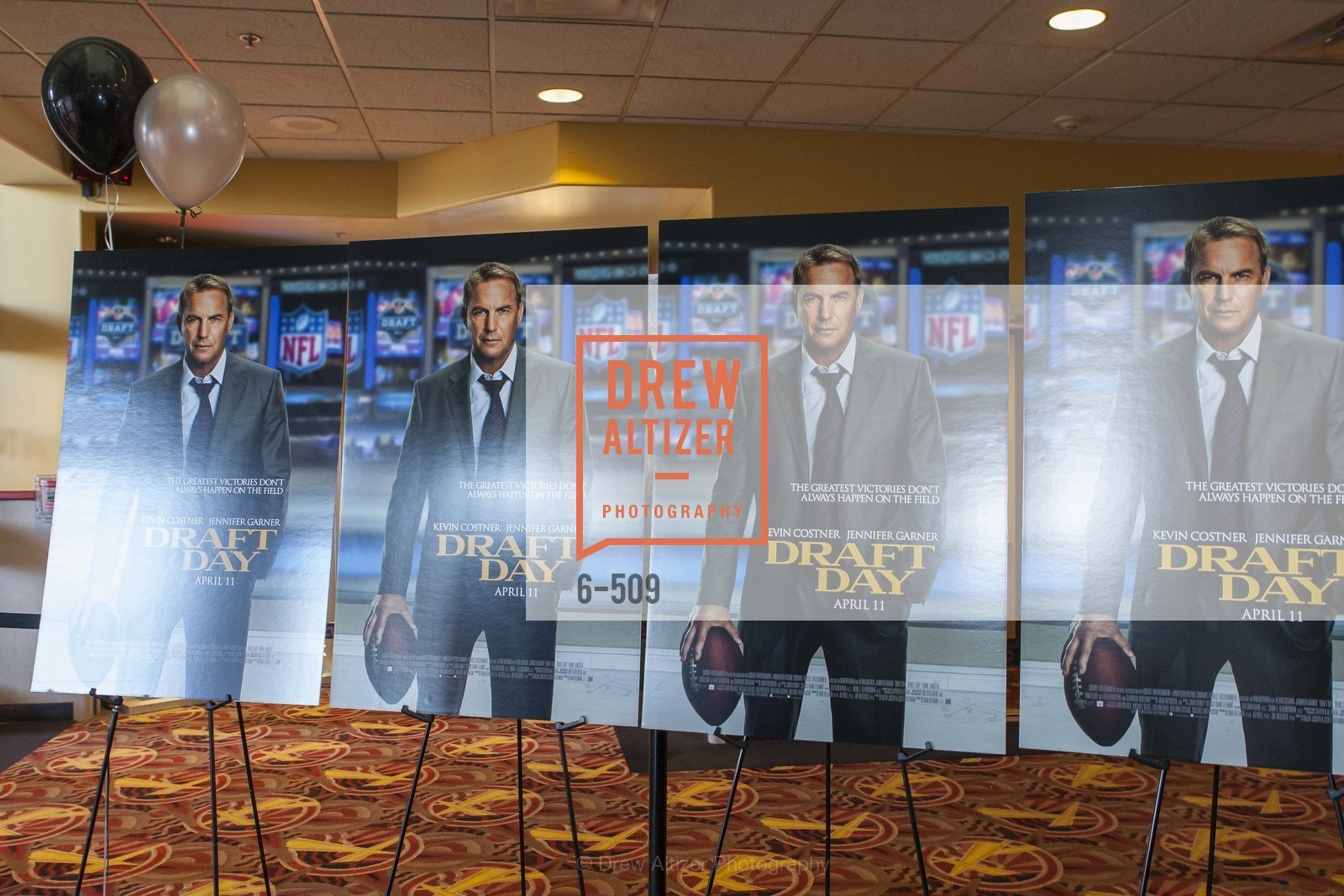 Atmosphere, SUMMIT ENTERTAINMENT Presents a Special Screening of DRAFT DAY with the Oakland Raiders, US. AMC 16 Shellmound, Emeryville, Ca, April 9th, 2014,Drew Altizer, Drew Altizer Photography, full-service agency, private events, San Francisco photographer, photographer california