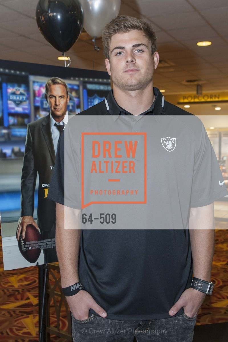 Nick Kasa, SUMMIT ENTERTAINMENT Presents a Special Screening of DRAFT DAY with the Oakland Raiders, US. AMC 16 Shellmound, Emeryville, Ca, April 9th, 2014,Drew Altizer, Drew Altizer Photography, full-service agency, private events, San Francisco photographer, photographer california