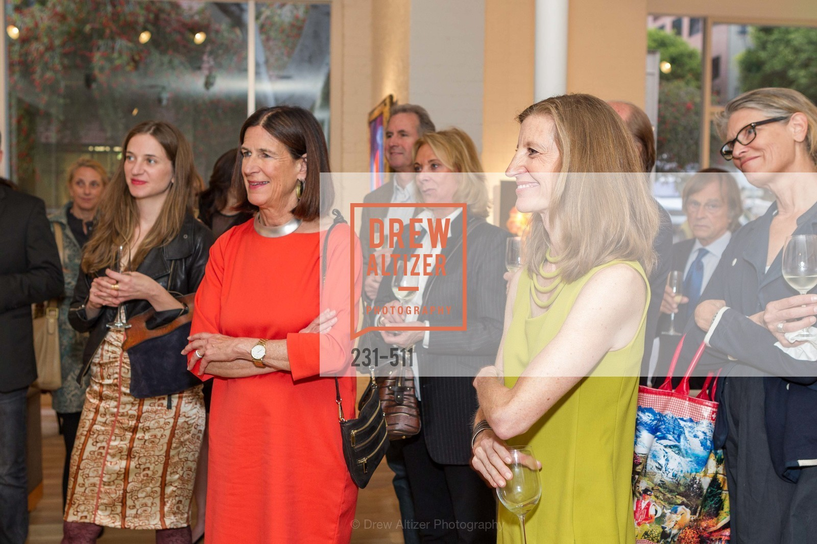 Ellanor Notides, Laura Nagle, CHRISTIE'S Preview to Benefit CalArts School of Art, US. Hedge Gallery 501 Pacific Avenue, April 9th, 2014,Drew Altizer, Drew Altizer Photography, full-service agency, private events, San Francisco photographer, photographer california