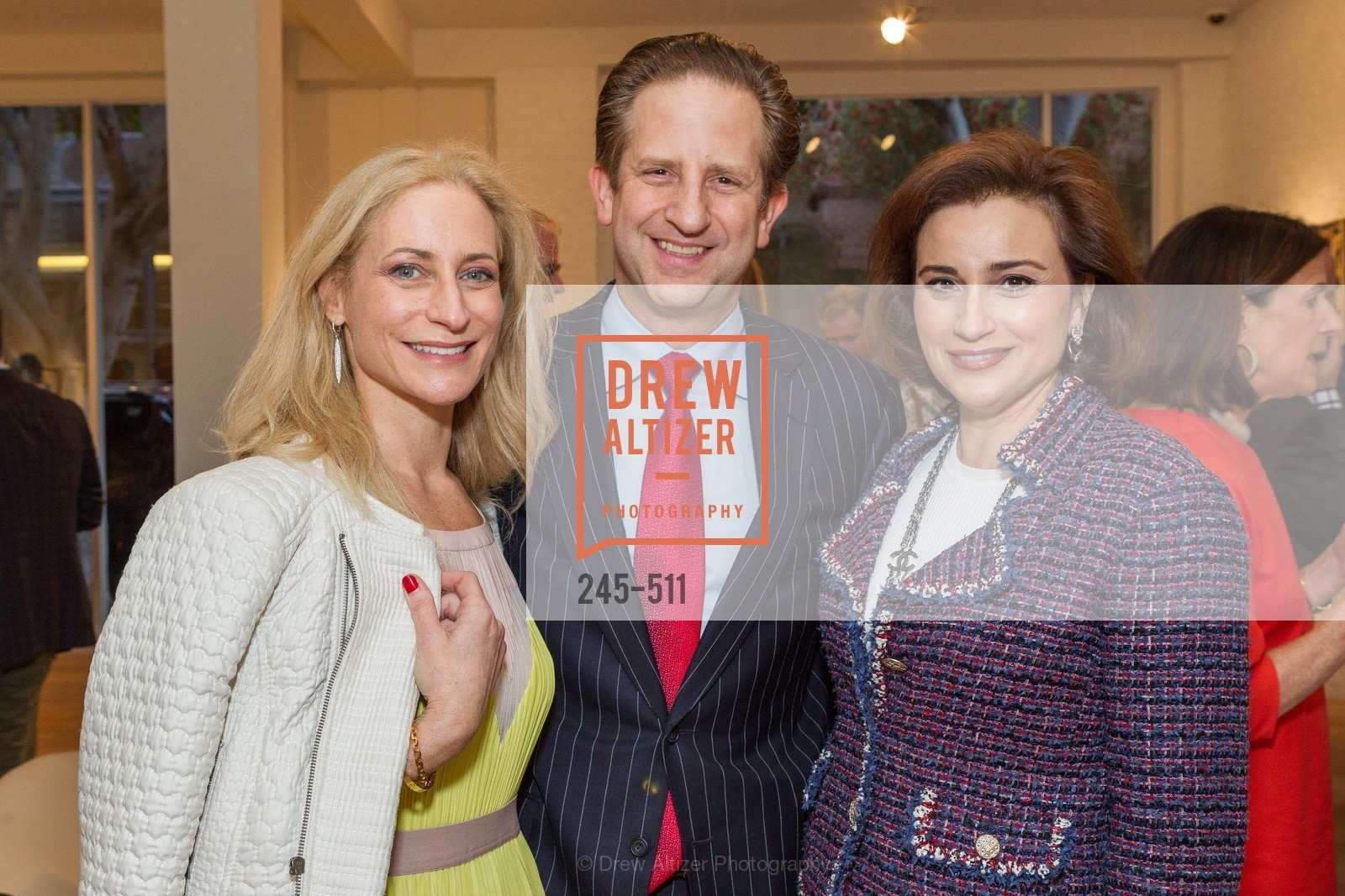 Joni Binder, Robert Shwarts, Dolly Chammas, CHRISTIE'S Preview to Benefit CalArts School of Art, US. Hedge Gallery 501 Pacific Avenue, April 9th, 2014,Drew Altizer, Drew Altizer Photography, full-service agency, private events, San Francisco photographer, photographer california