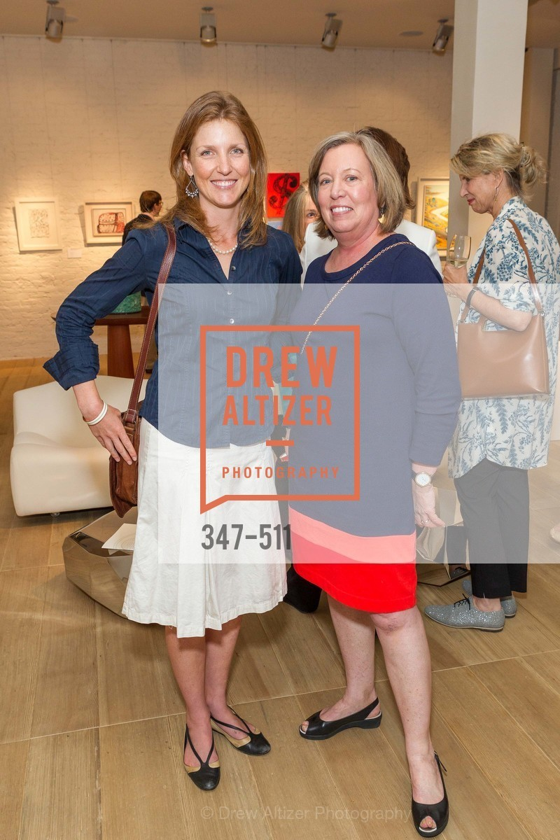 Brooke Ray Smith, Mary Kay Lyon, CHRISTIE'S Preview to Benefit CalArts School of Art, US. Hedge Gallery 501 Pacific Avenue, April 9th, 2014,Drew Altizer, Drew Altizer Photography, full-service agency, private events, San Francisco photographer, photographer california
