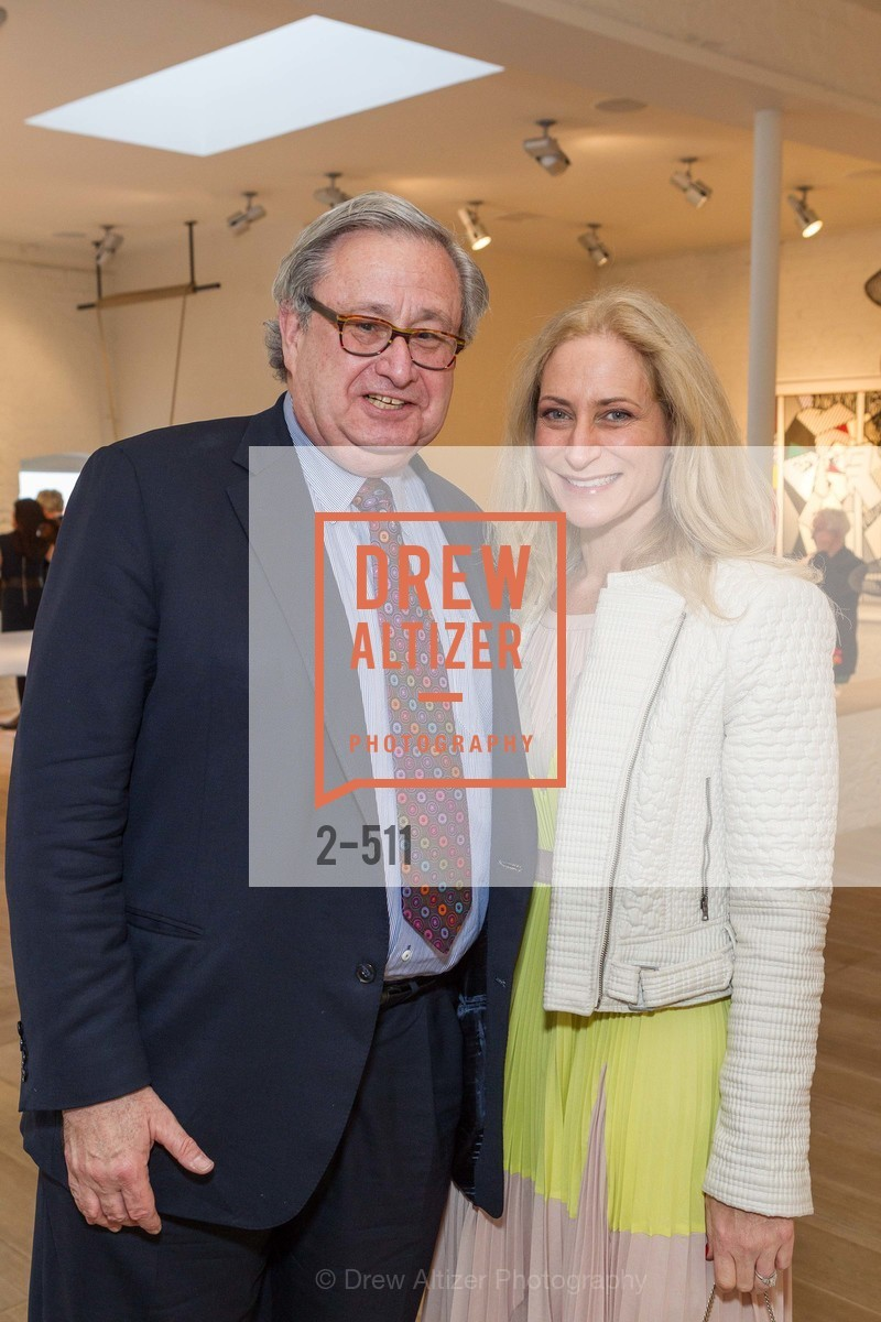 Steven Lavine, Joni Binder, CHRISTIE'S Preview to Benefit CalArts School of Art, US. Hedge Gallery 501 Pacific Avenue, April 9th, 2014,Drew Altizer, Drew Altizer Photography, full-service agency, private events, San Francisco photographer, photographer california