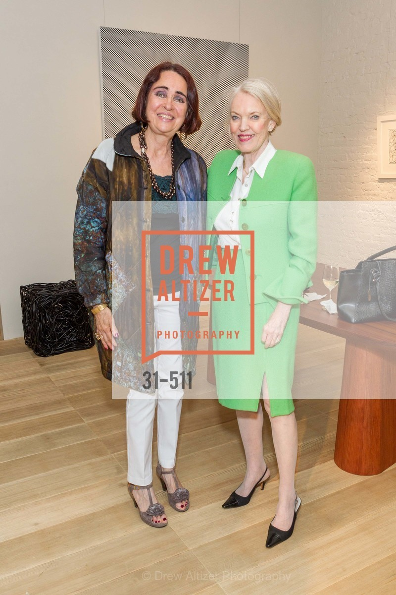 Lucia Mathieux, Nienke Hohmann, CHRISTIE'S Preview to Benefit CalArts School of Art, US. Hedge Gallery 501 Pacific Avenue, April 9th, 2014,Drew Altizer, Drew Altizer Photography, full-service agency, private events, San Francisco photographer, photographer california