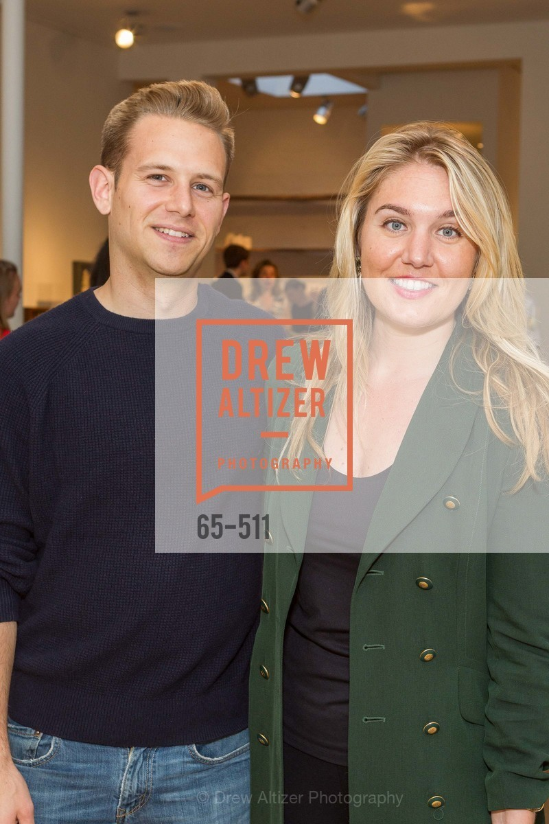 Tom Sherman, Maura Smith, CHRISTIE'S Preview to Benefit CalArts School of Art, US. Hedge Gallery 501 Pacific Avenue, April 9th, 2014,Drew Altizer, Drew Altizer Photography, full-service agency, private events, San Francisco photographer, photographer california