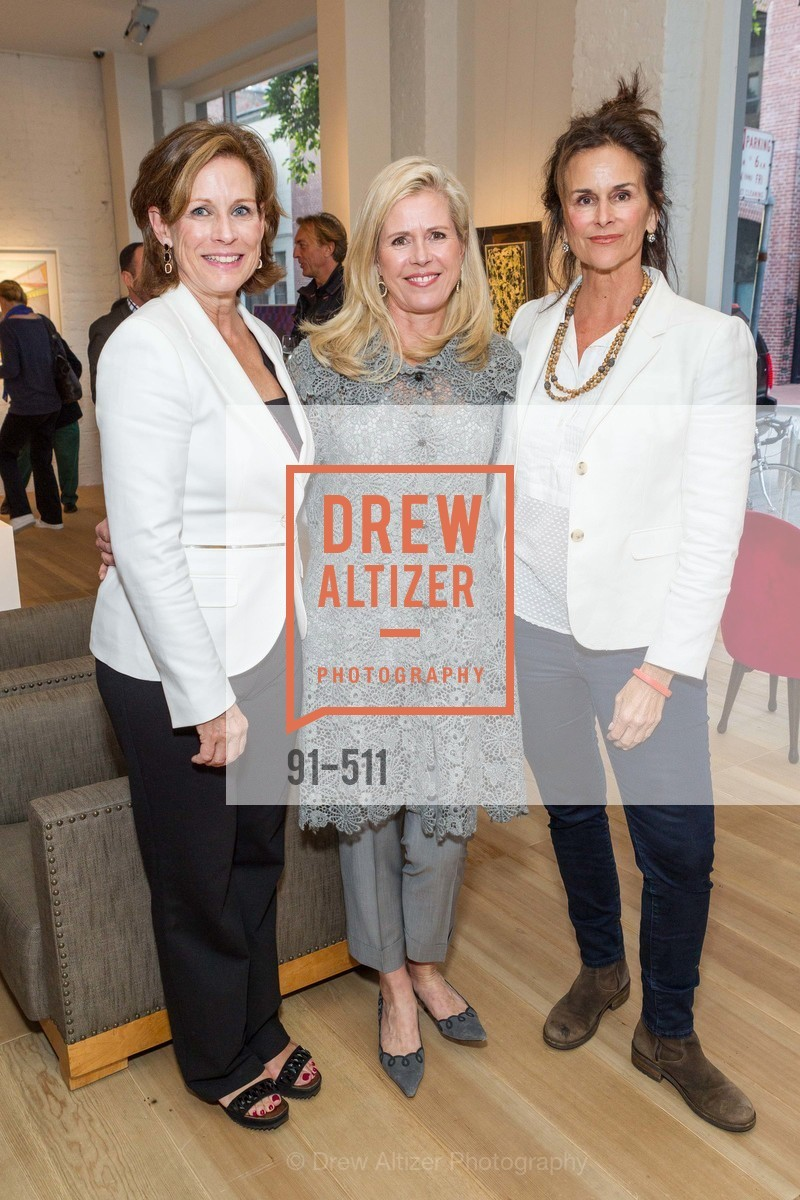 Melissa Draper, Shawn Byers, Becky Draper, CHRISTIE'S Preview to Benefit CalArts School of Art, US. Hedge Gallery 501 Pacific Avenue, April 9th, 2014,Drew Altizer, Drew Altizer Photography, full-service agency, private events, San Francisco photographer, photographer california