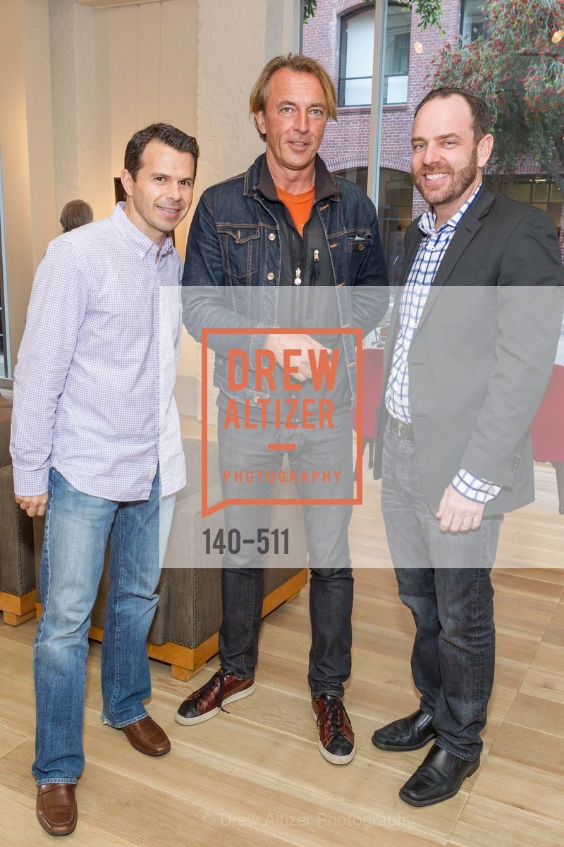 Martin Mulligan, Thomas Moller, Stephen Flowers, CHRISTIE'S Preview to Benefit CalArts School of Art, US. Hedge Gallery 501 Pacific Avenue, April 9th, 2014,Drew Altizer, Drew Altizer Photography, full-service agency, private events, San Francisco photographer, photographer california
