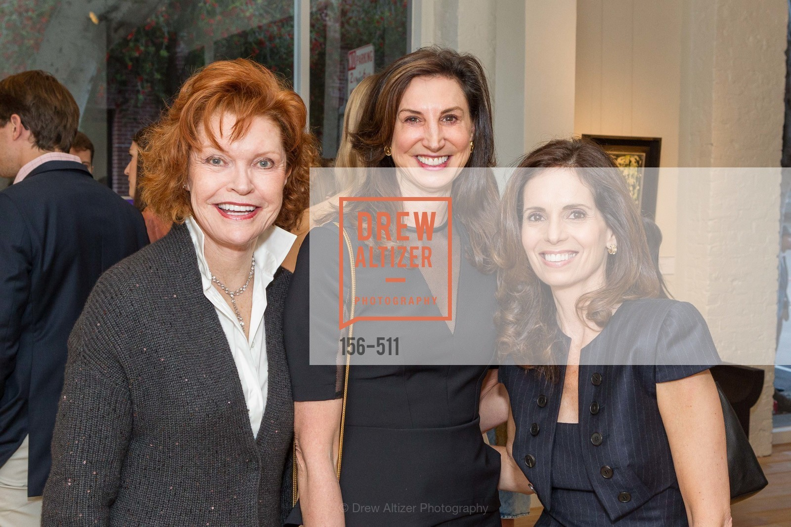 Marilyn Hayes, Blair Heath, Belinda Getler, CHRISTIE'S Preview to Benefit CalArts School of Art, US. Hedge Gallery 501 Pacific Avenue, April 9th, 2014,Drew Altizer, Drew Altizer Photography, full-service agency, private events, San Francisco photographer, photographer california