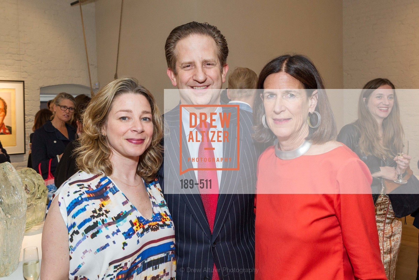 Melissa Emergui, Robert Shwarts, Ellanor Notides, CHRISTIE'S Preview to Benefit CalArts School of Art, US. Hedge Gallery 501 Pacific Avenue, April 9th, 2014,Drew Altizer, Drew Altizer Photography, full-service agency, private events, San Francisco photographer, photographer california