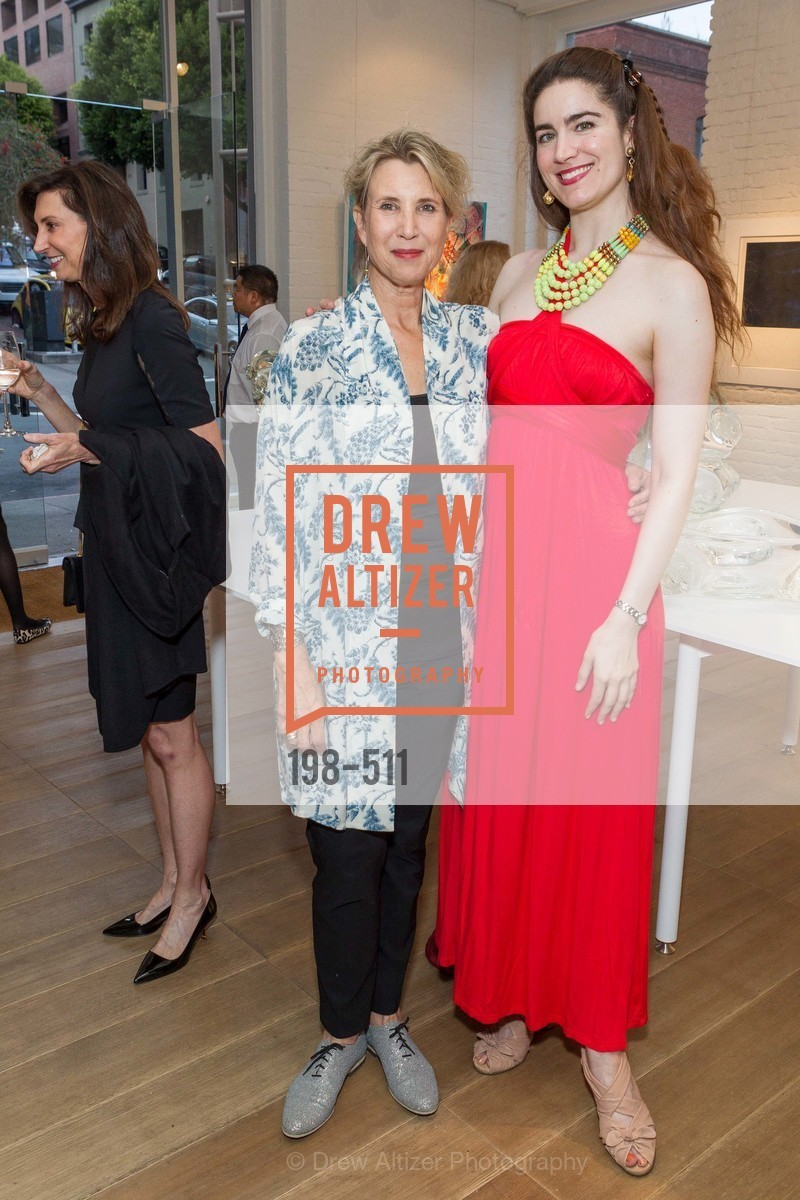 Bianca Roberts, Larissa Archer, CHRISTIE'S Preview to Benefit CalArts School of Art, US. Hedge Gallery 501 Pacific Avenue, April 9th, 2014,Drew Altizer, Drew Altizer Photography, full-service agency, private events, San Francisco photographer, photographer california