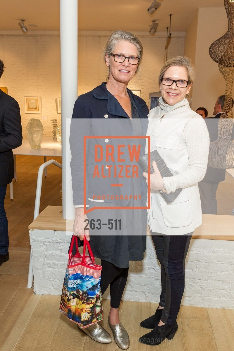 Diane Foug, Cindy Weil, CHRISTIE'S Preview to Benefit CalArts School of Art, US. Hedge Gallery 501 Pacific Avenue, April 9th, 2014,Drew Altizer, Drew Altizer Photography, full-service agency, private events, San Francisco photographer, photographer california