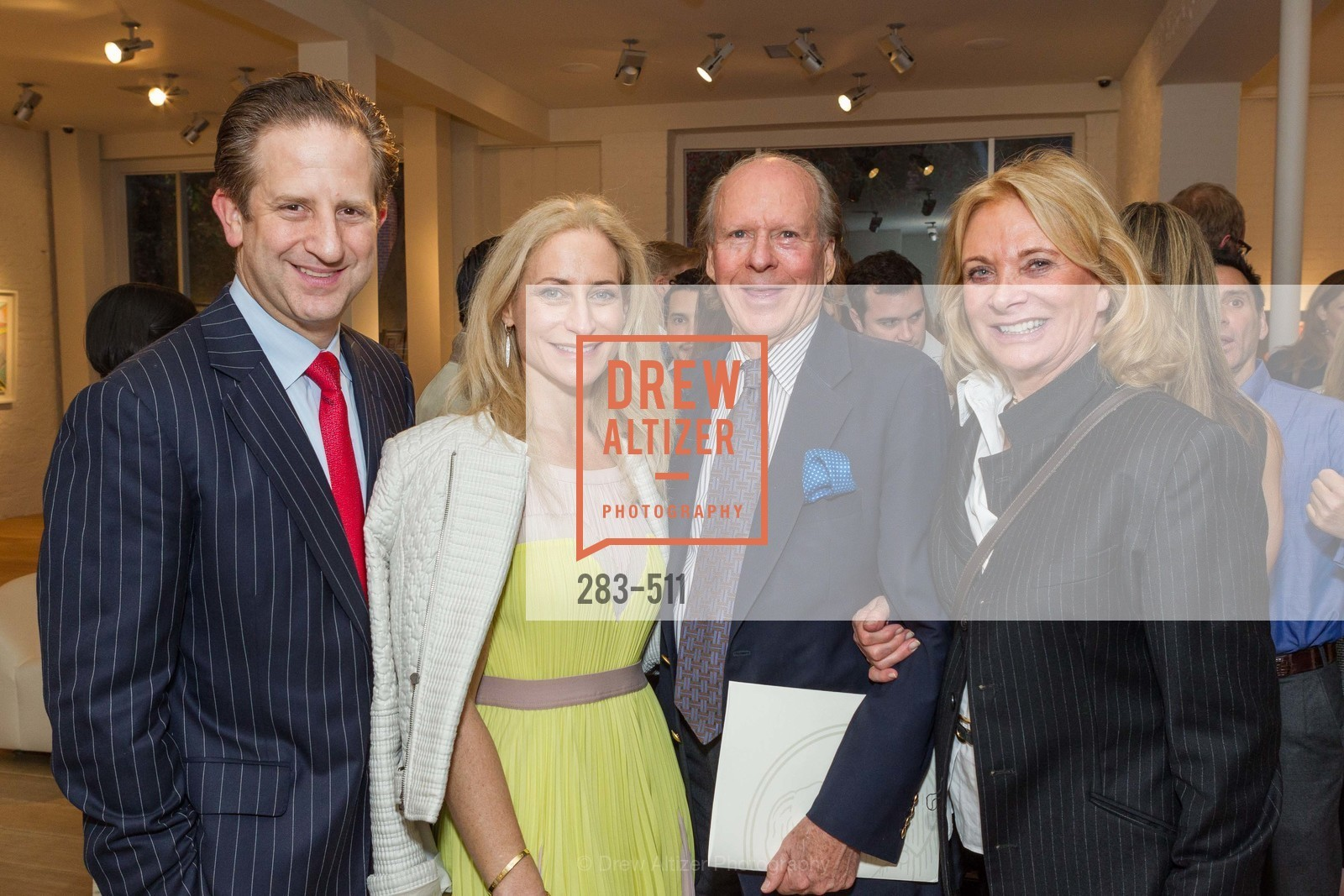 Robert Shwarts, Joni Binder, Austin Hills, Sara Hills, CHRISTIE'S Preview to Benefit CalArts School of Art, US. Hedge Gallery 501 Pacific Avenue, April 9th, 2014,Drew Altizer, Drew Altizer Photography, full-service event agency, private events, San Francisco photographer, photographer California