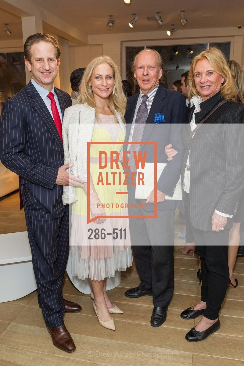 Robert Shwarts, Joni Binder, Austin Hills, Sara Hills, CHRISTIE'S Preview to Benefit CalArts School of Art, US. Hedge Gallery 501 Pacific Avenue, April 9th, 2014,Drew Altizer, Drew Altizer Photography, full-service agency, private events, San Francisco photographer, photographer california