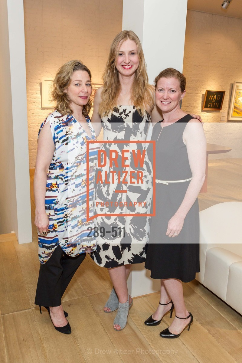 Melissa Emergui, Julie Harper, Jennifer Slavin, CHRISTIE'S Preview to Benefit CalArts School of Art, US. Hedge Gallery 501 Pacific Avenue, April 9th, 2014,Drew Altizer, Drew Altizer Photography, full-service event agency, private events, San Francisco photographer, photographer California