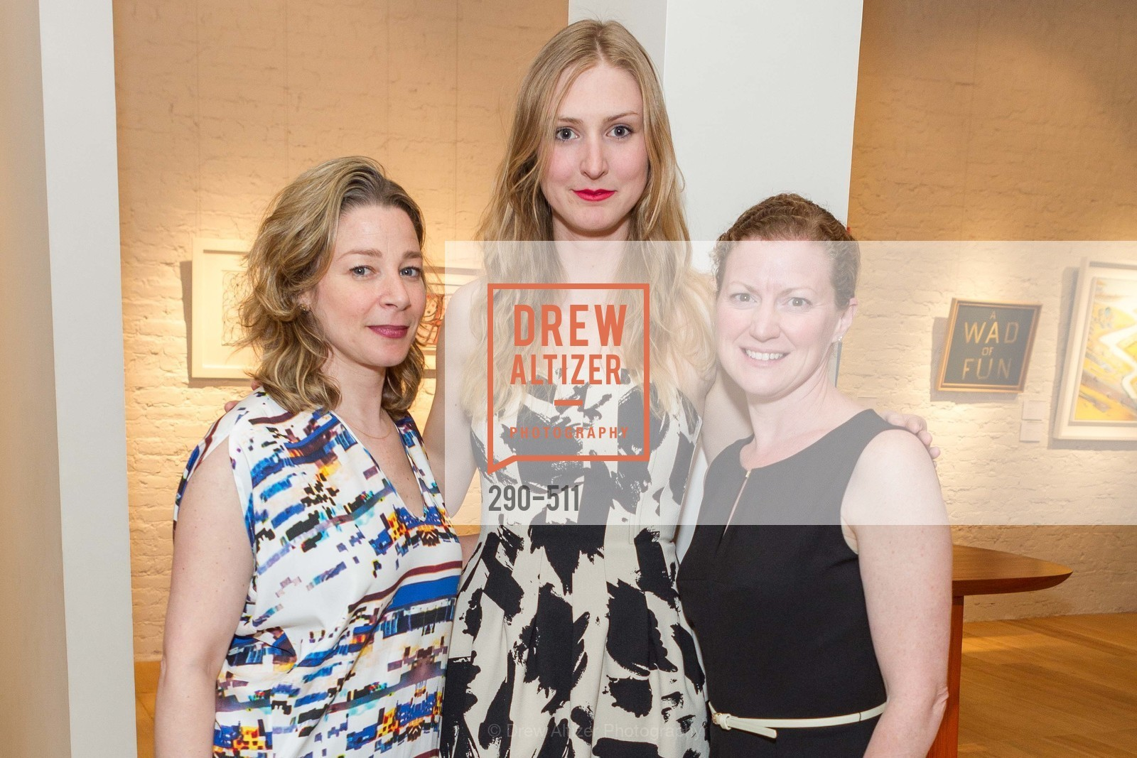 Melissa Emergui, Julie Harper, Jennifer Slavin, CHRISTIE'S Preview to Benefit CalArts School of Art, US. Hedge Gallery 501 Pacific Avenue, April 9th, 2014,Drew Altizer, Drew Altizer Photography, full-service agency, private events, San Francisco photographer, photographer california