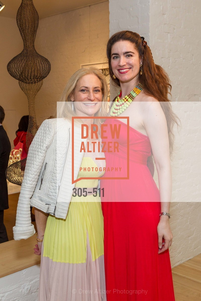 Joni Binder, Larissa Archer, CHRISTIE'S Preview to Benefit CalArts School of Art, US. Hedge Gallery 501 Pacific Avenue, April 9th, 2014,Drew Altizer, Drew Altizer Photography, full-service agency, private events, San Francisco photographer, photographer california