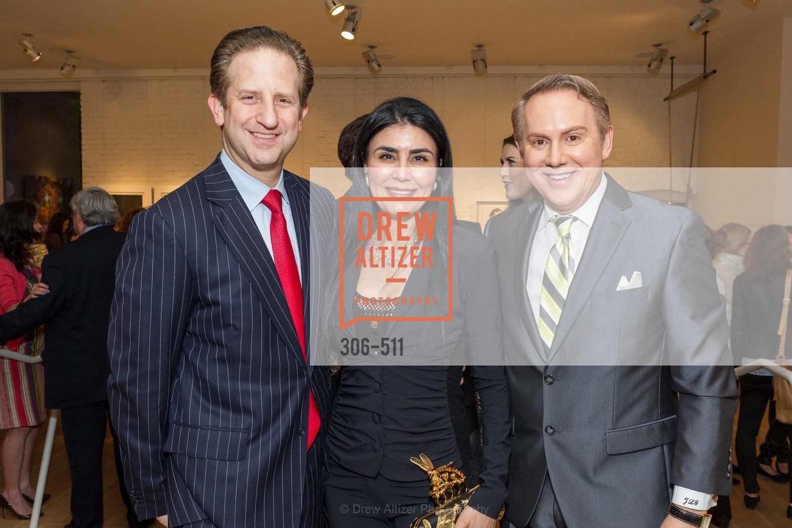 Robert Shwarts, Afsaneh Akhtari, Joel Goodrich, CHRISTIE'S Preview to Benefit CalArts School of Art, US. Hedge Gallery 501 Pacific Avenue, April 9th, 2014