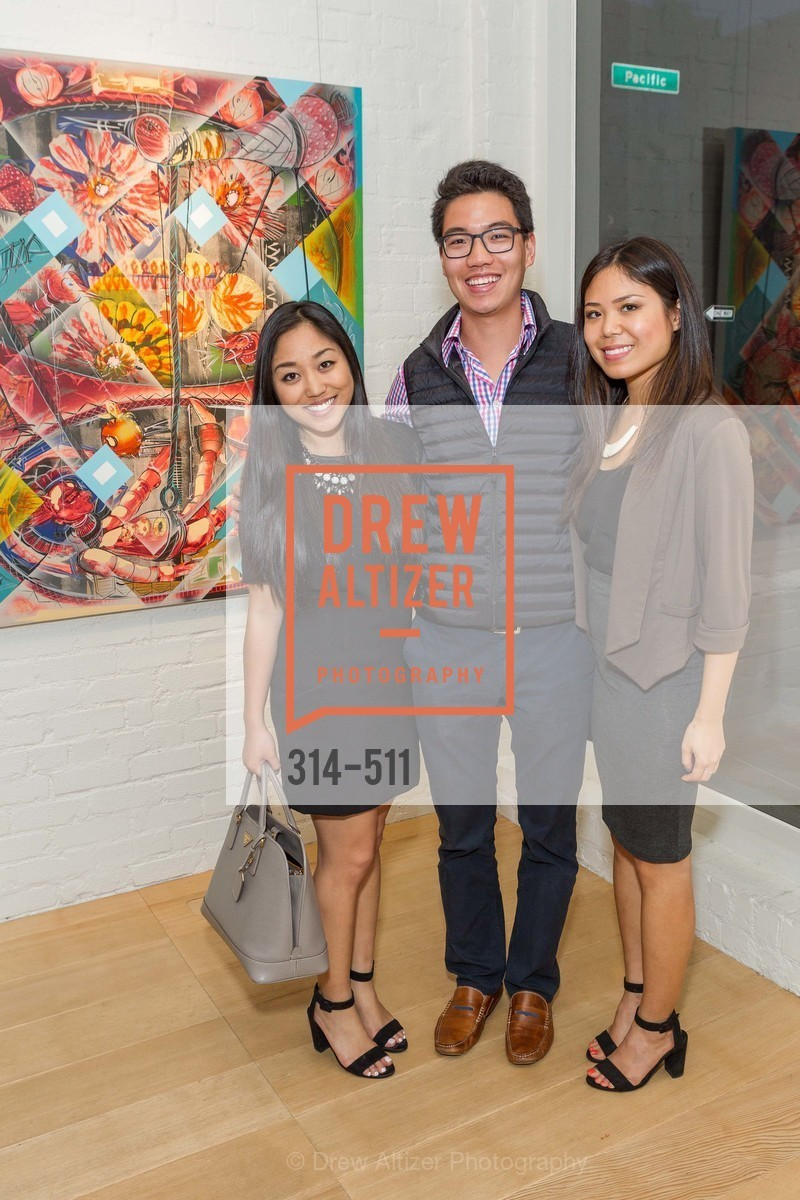 Stephanie Yang, Brian Yip, Christine Pai, CHRISTIE'S Preview to Benefit CalArts School of Art, US. Hedge Gallery 501 Pacific Avenue, April 9th, 2014,Drew Altizer, Drew Altizer Photography, full-service agency, private events, San Francisco photographer, photographer california