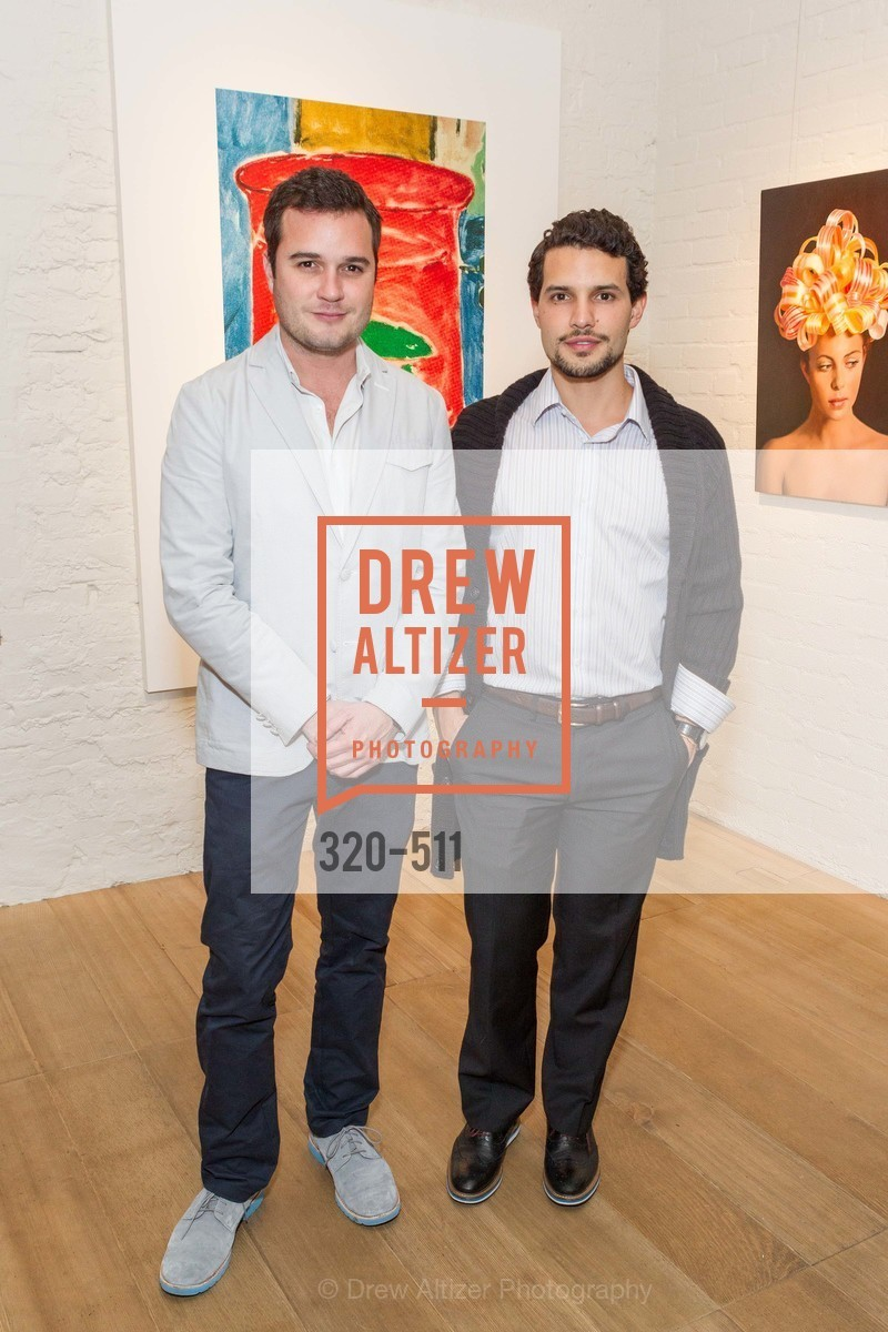 Santiago Ospina, Felipe Turbay, CHRISTIE'S Preview to Benefit CalArts School of Art, US. Hedge Gallery 501 Pacific Avenue, April 9th, 2014,Drew Altizer, Drew Altizer Photography, full-service agency, private events, San Francisco photographer, photographer california