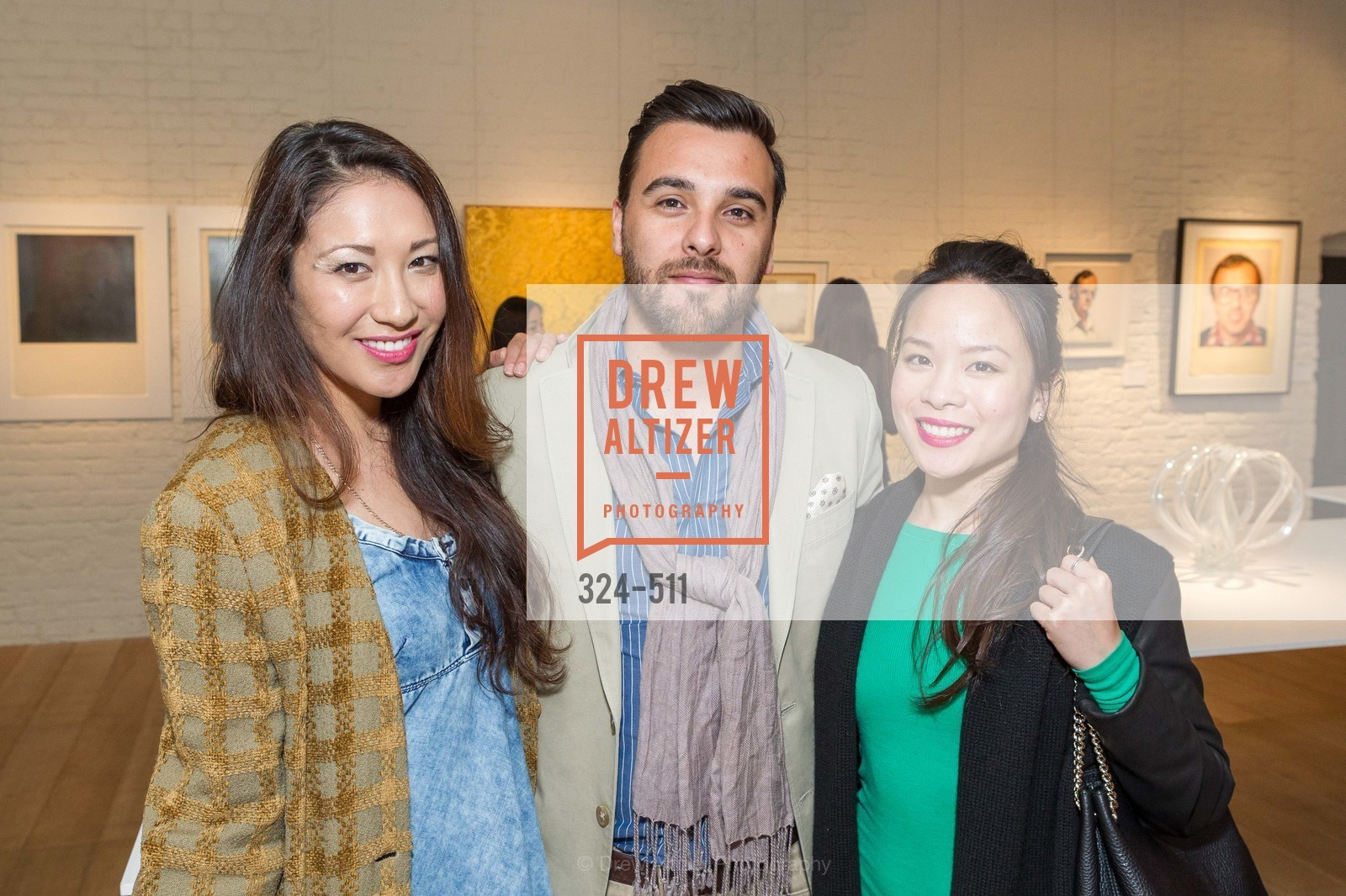 Cynthia Riddell, Damian Gona, Margaret Nguyen, CHRISTIE'S Preview to Benefit CalArts School of Art, US. Hedge Gallery 501 Pacific Avenue, April 9th, 2014,Drew Altizer, Drew Altizer Photography, full-service agency, private events, San Francisco photographer, photographer california