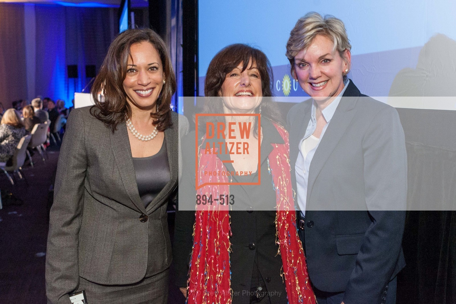 Kamala Harris, Carla Marinucci, Jennifer Granholm, Photo #894-513