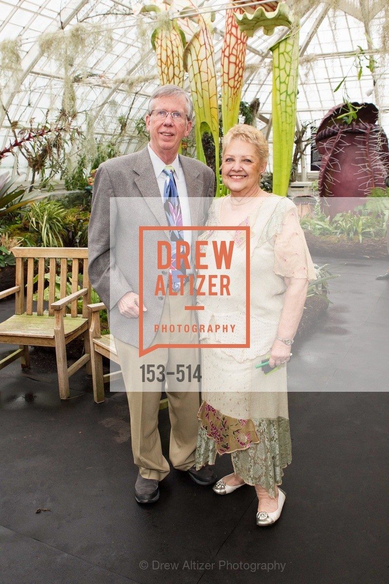 Steve Voris, Betty Packard, SF Conservatory of Flowers - CHOMP They came from the swamp, US. US, April 10th, 2014,Drew Altizer, Drew Altizer Photography, full-service agency, private events, San Francisco photographer, photographer california