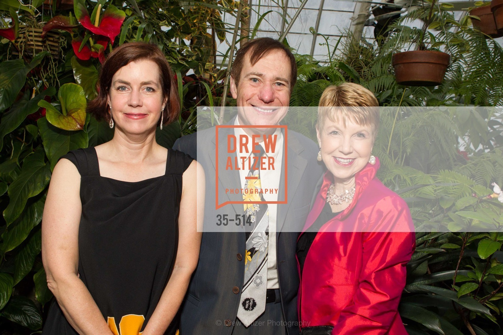 Mary Lipian, Mark Lipian, Martha Woollomes, SF Conservatory of Flowers - CHOMP They came from the swamp, US. US, April 10th, 2014,Drew Altizer, Drew Altizer Photography, full-service agency, private events, San Francisco photographer, photographer california