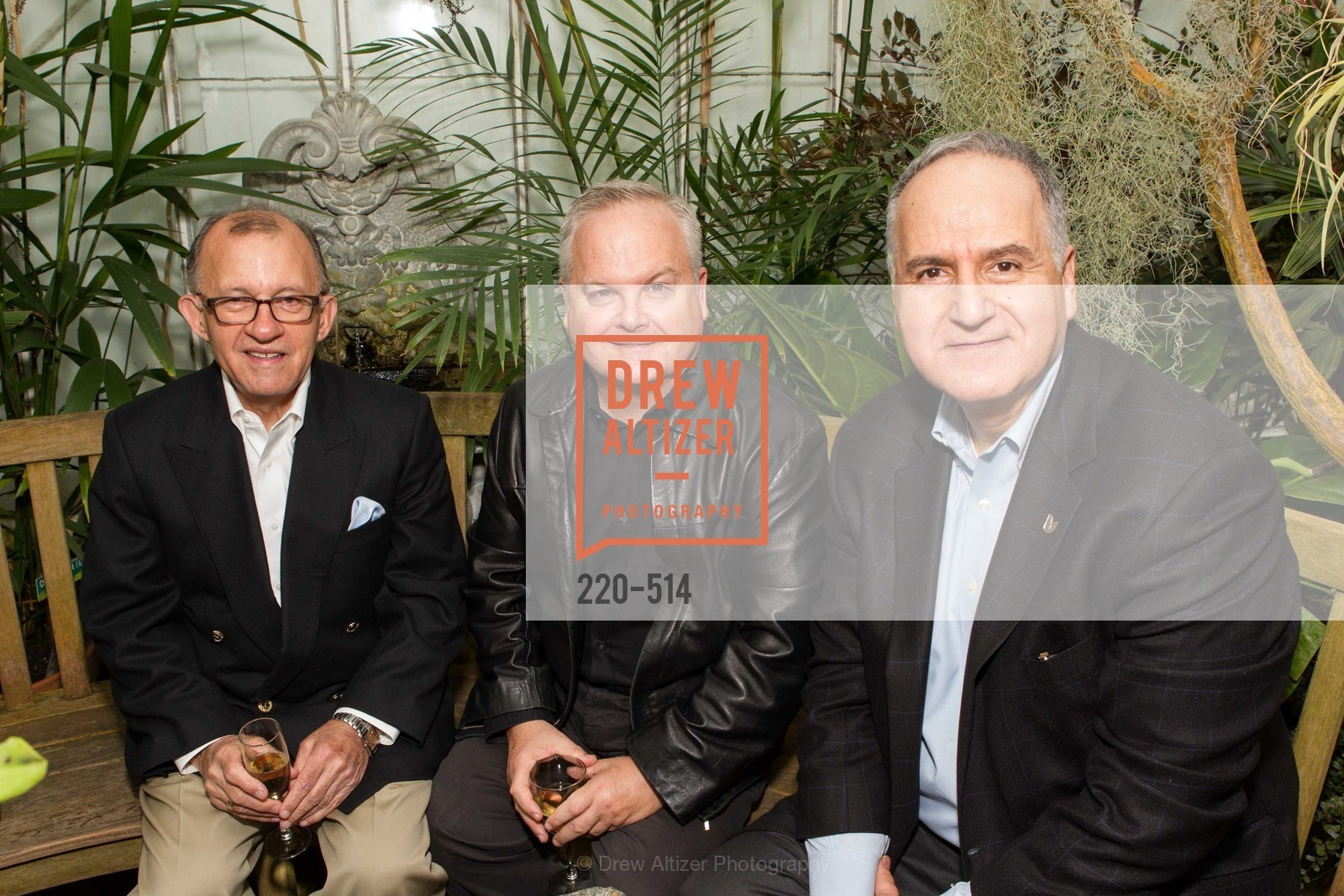 Mike Monroe, Ray Nolen, Vartan Shahijanian, SF Conservatory of Flowers - CHOMP They came from the swamp, US. US, April 10th, 2014,Drew Altizer, Drew Altizer Photography, full-service agency, private events, San Francisco photographer, photographer california