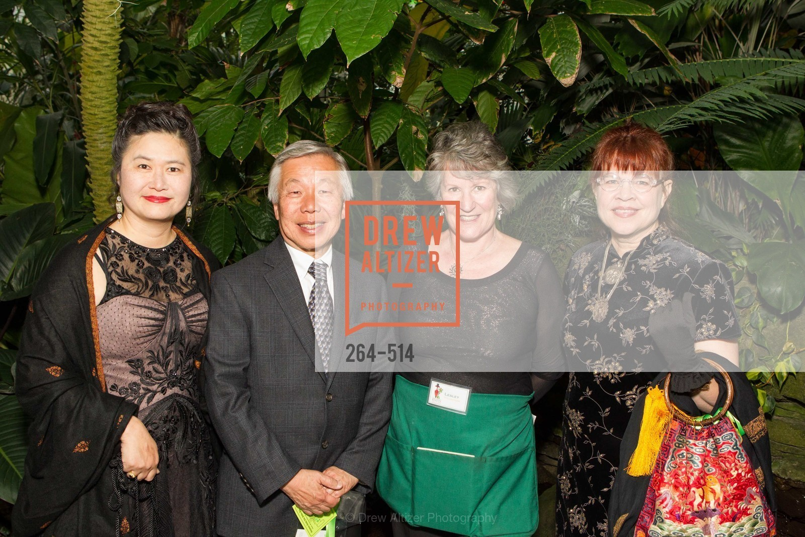 Seik Yee, Ernie Ng, Lesley Stansfield, Teresa Swift, SF Conservatory of Flowers - CHOMP They came from the swamp, US. US, April 10th, 2014,Drew Altizer, Drew Altizer Photography, full-service agency, private events, San Francisco photographer, photographer california