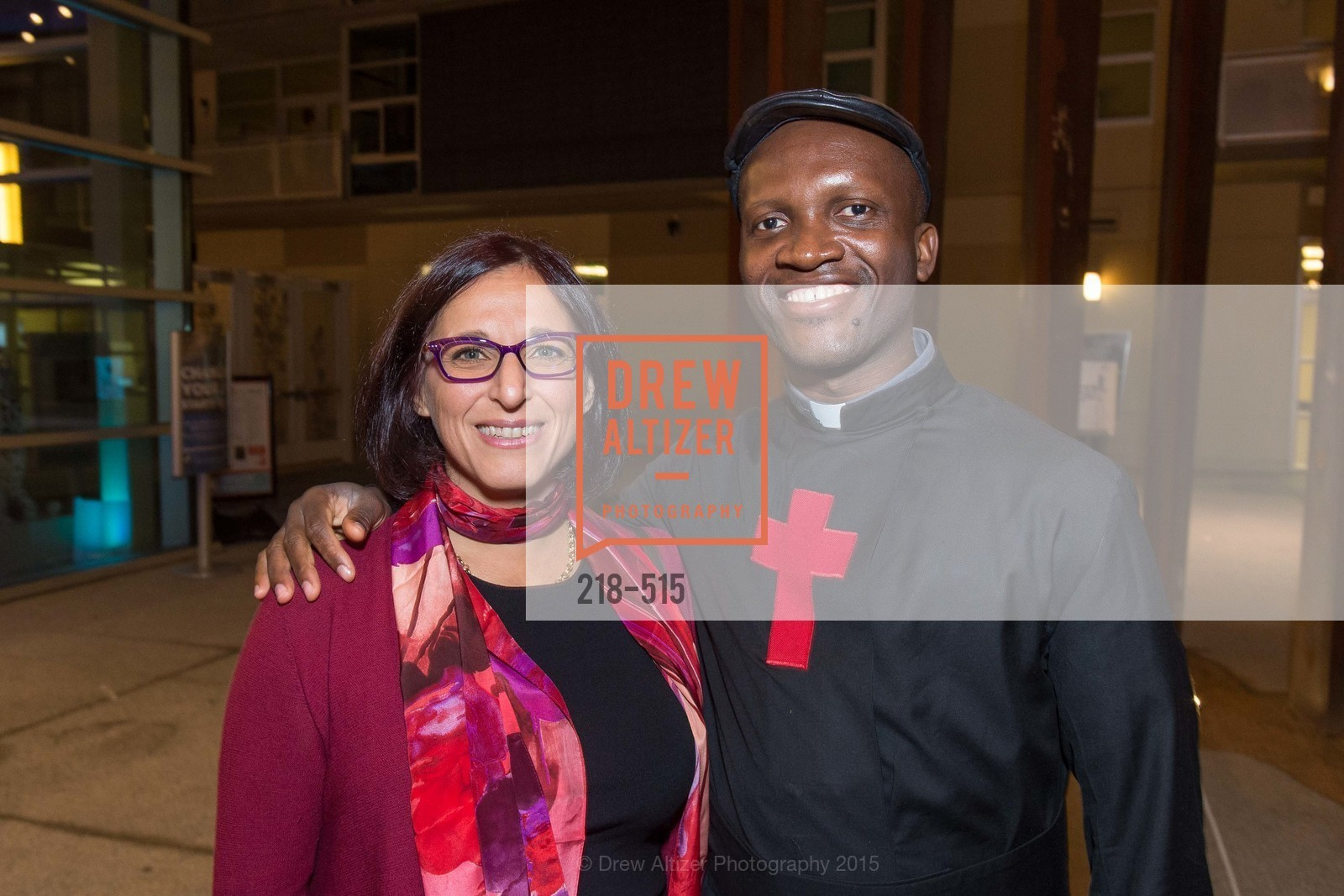Rina Mustapha, Fr. Bernard Kinvi, Human Rights Watch Voices for Justice, Palo Alto JCC, November 10th, 2015,Drew Altizer, Drew Altizer Photography, full-service agency, private events, San Francisco photographer, photographer california