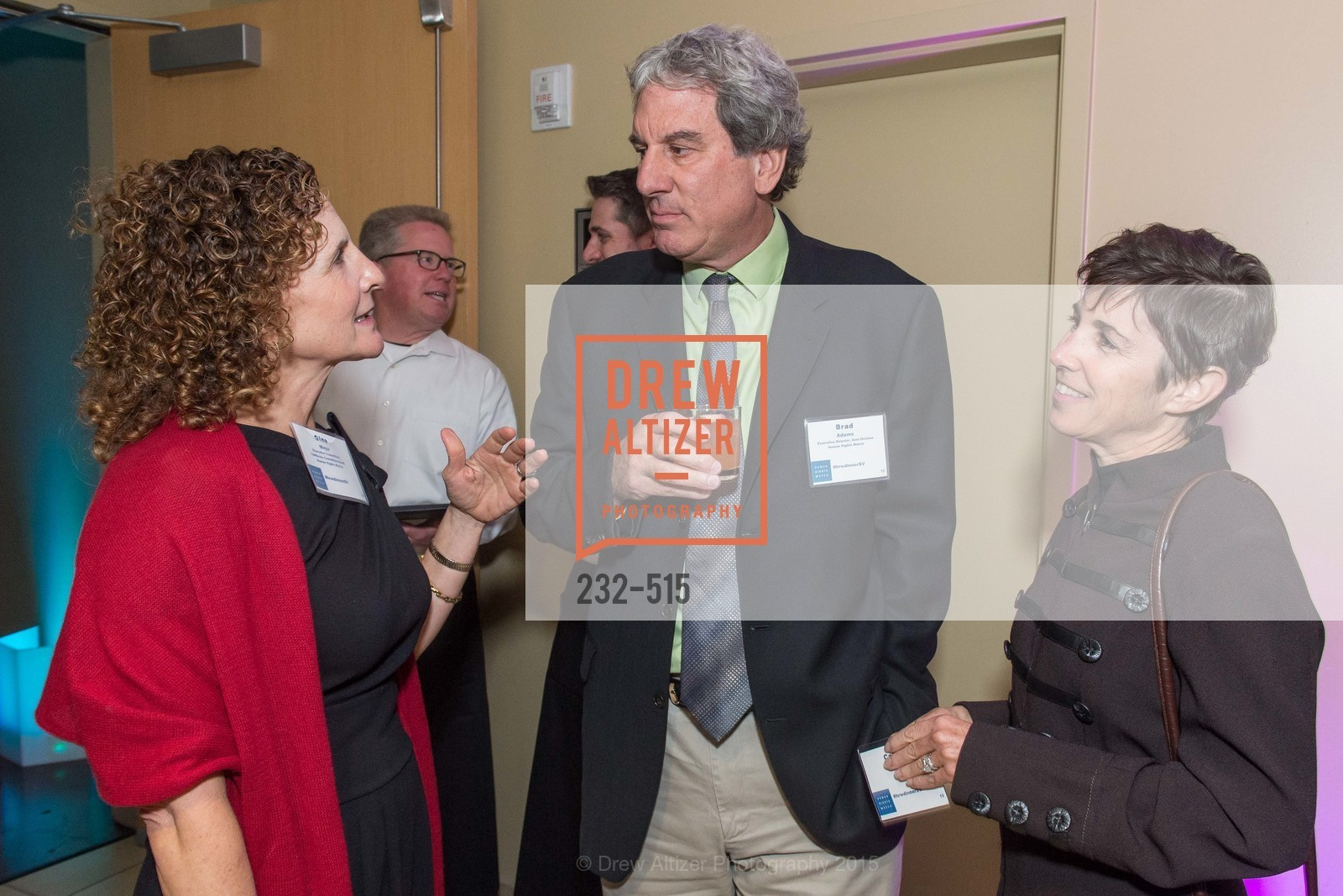 Gina Maya, Brad Adams, Cathy Zimmerman, Human Rights Watch Voices for Justice, Palo Alto JCC, November 10th, 2015,Drew Altizer, Drew Altizer Photography, full-service agency, private events, San Francisco photographer, photographer california