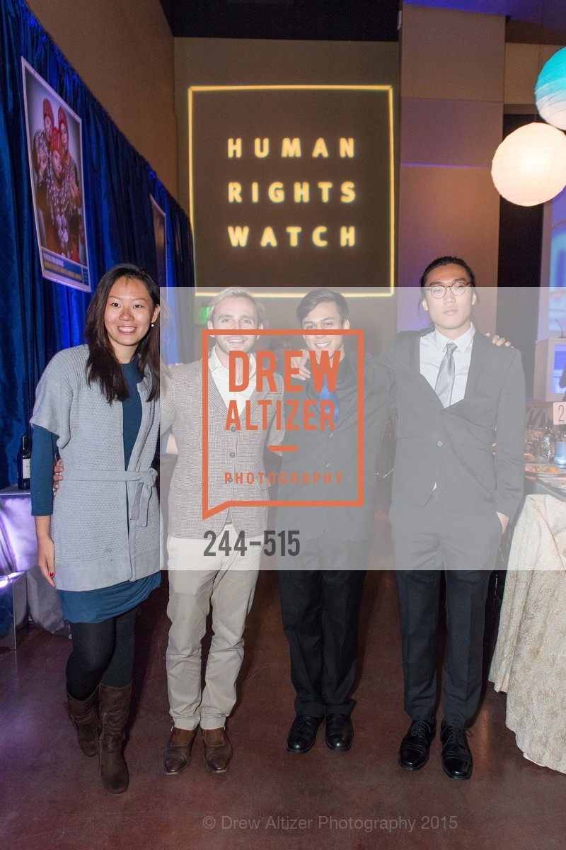 Bi Bo, Drem Hoti, Wesley Russell, David Koo, Human Rights Watch Voices for Justice, Palo Alto JCC, November 10th, 2015,Drew Altizer, Drew Altizer Photography, full-service agency, private events, San Francisco photographer, photographer california