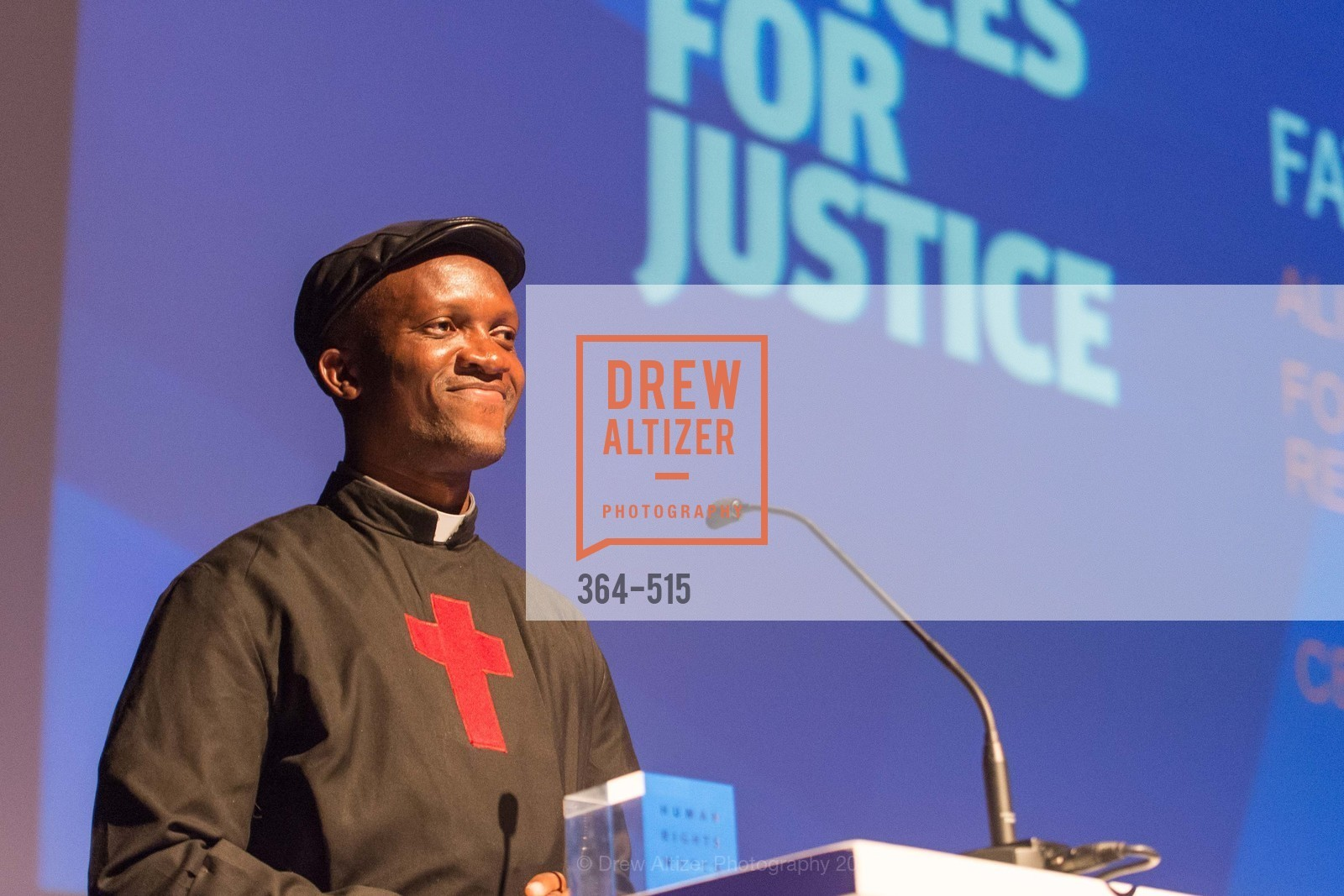 Fr. Bernard Kinvi, Human Rights Watch Voices for Justice, Palo Alto JCC, November 10th, 2015,Drew Altizer, Drew Altizer Photography, full-service agency, private events, San Francisco photographer, photographer california