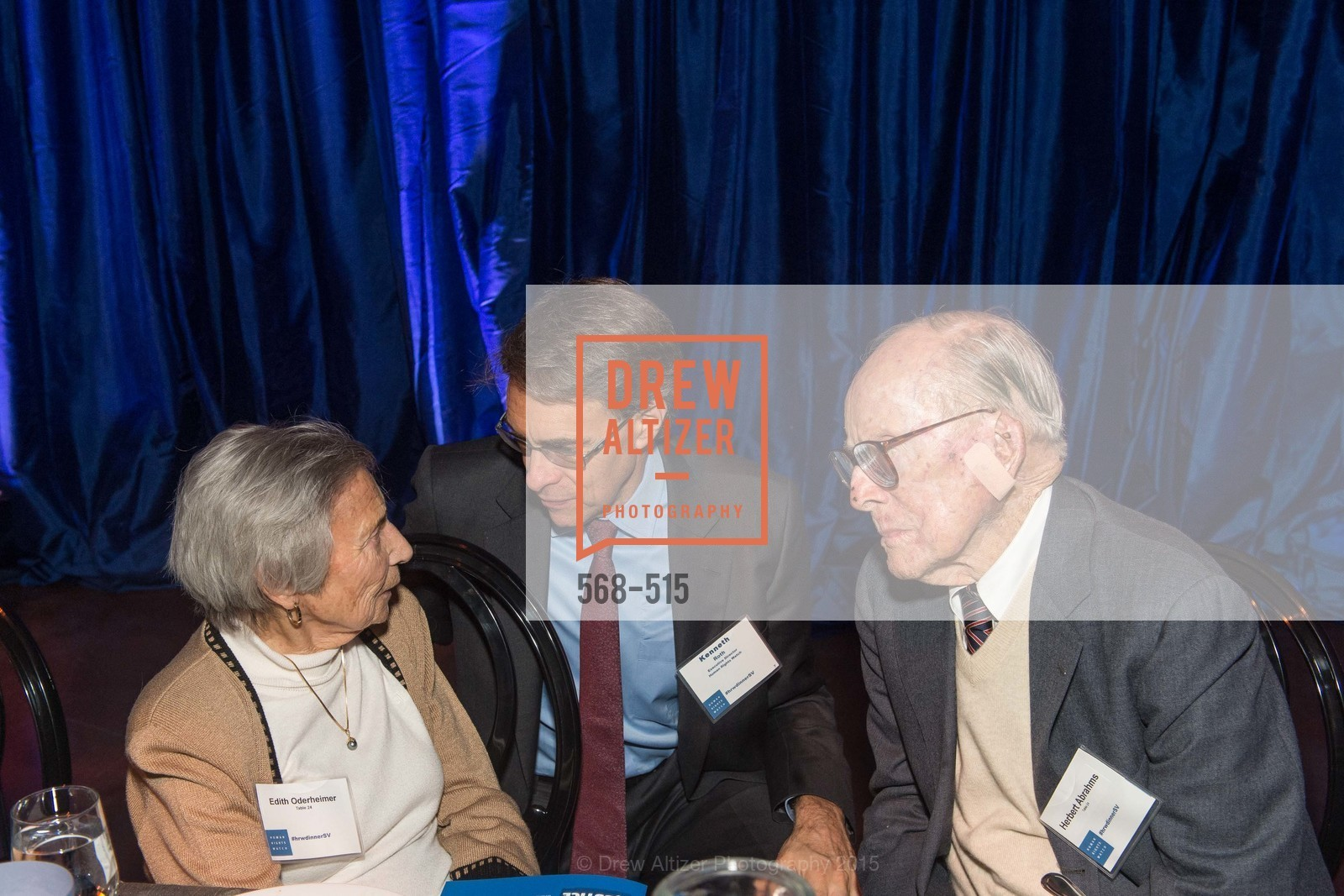 Edith Oderheimer, Kenneth Roth, Herbert Abrahms, Human Rights Watch Voices for Justice, Palo Alto JCC, November 10th, 2015,Drew Altizer, Drew Altizer Photography, full-service event agency, private events, San Francisco photographer, photographer California
