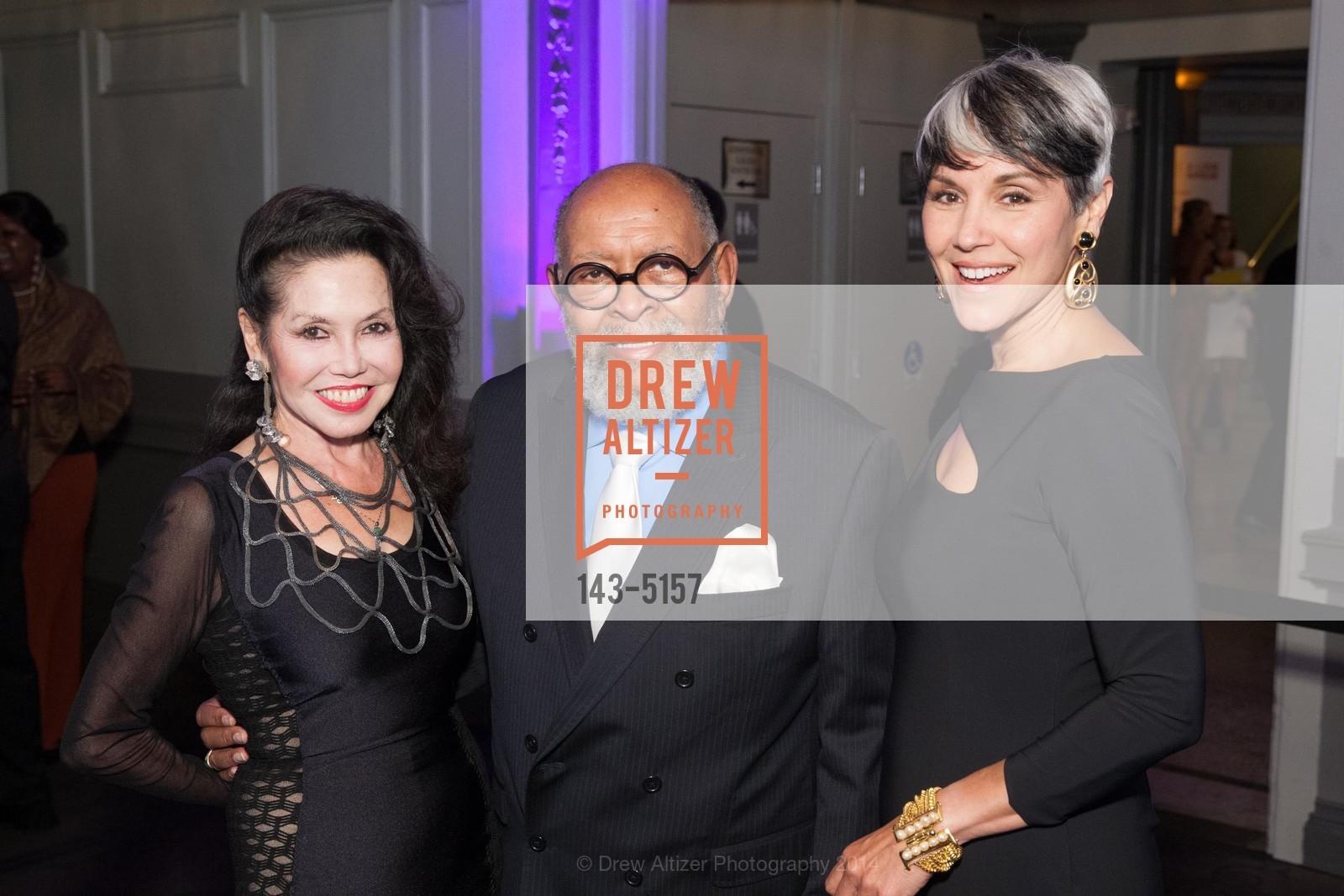 Janice Mirikitani, Rev. Cecil Williams, Doniece Sandoval, Photo #143-5157