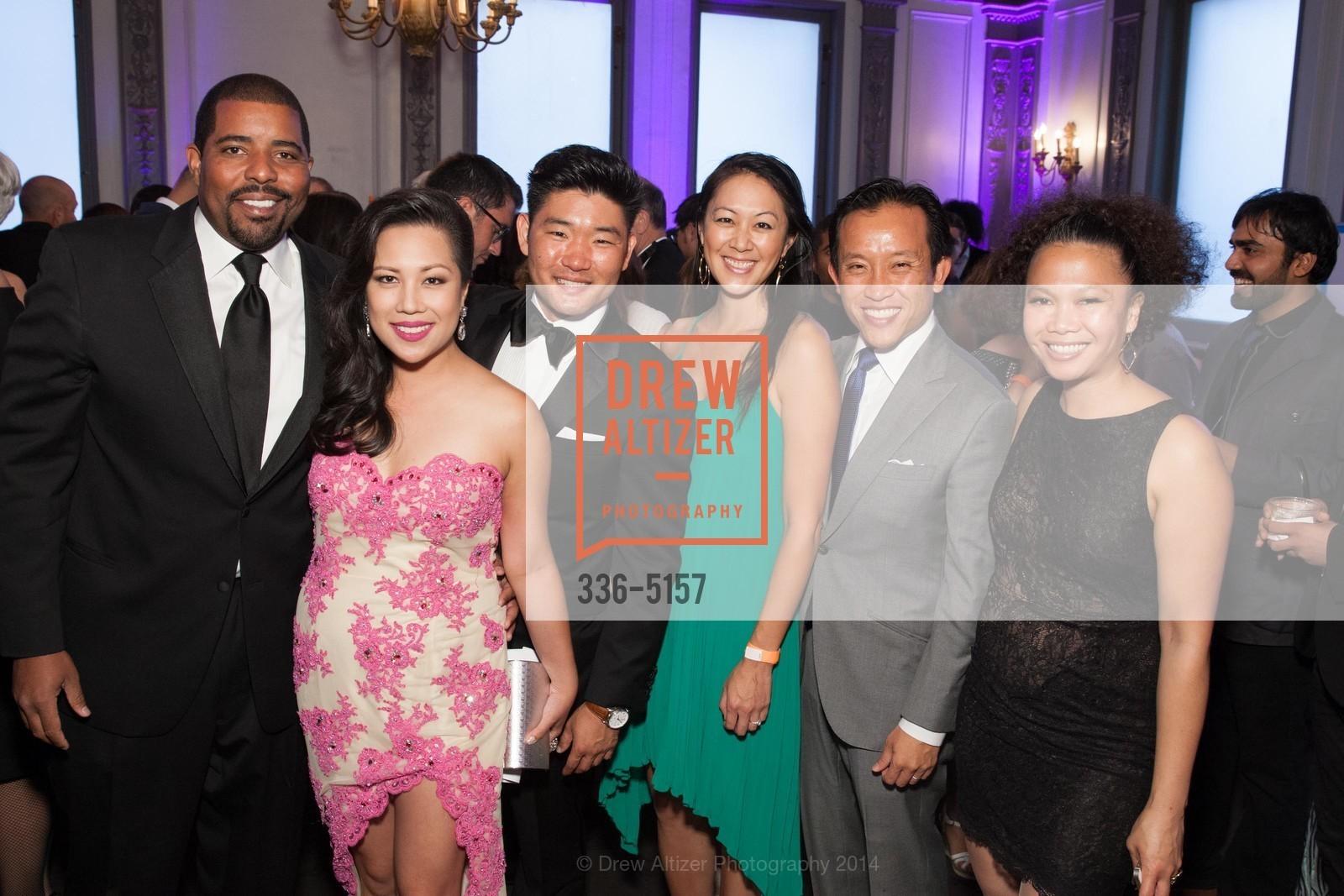 Leon Gilmore, Keesa Ocampo, Mike Kim, Candace Chen, David Chiu, Dori Caminong, Photo #336-5157