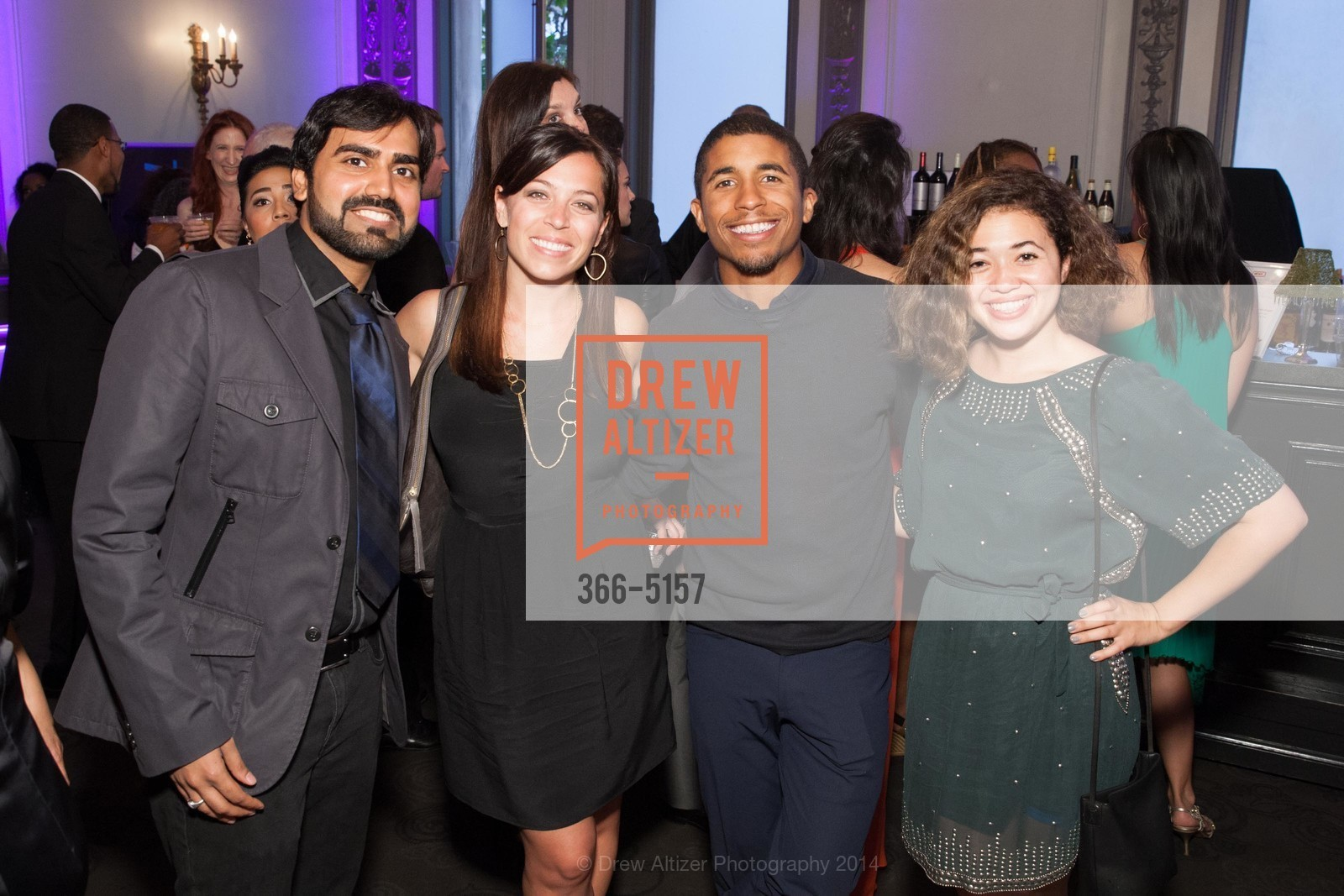 RJ Jain, Stephanie Segar, Chris Lyons, Sophia Horowitz, Photo #366-5157