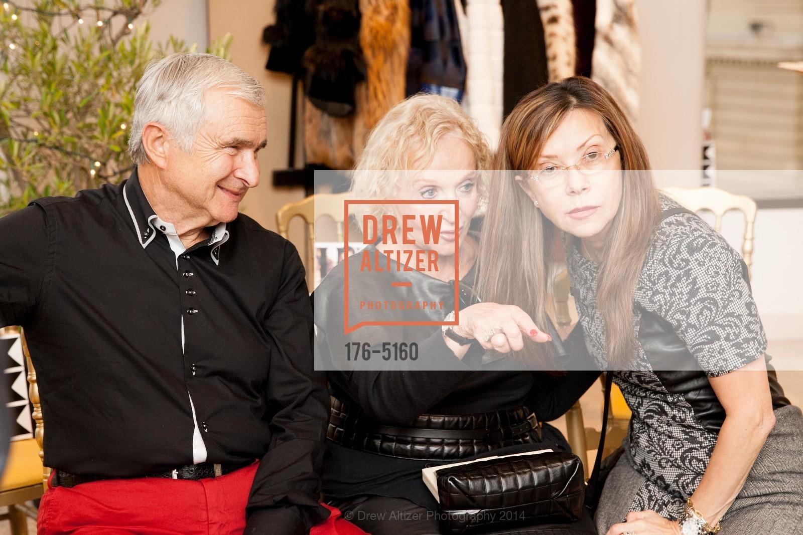 Ernest Schrayver, Rozalya Schrayver, Sophia Shponko, Photo #176-5160