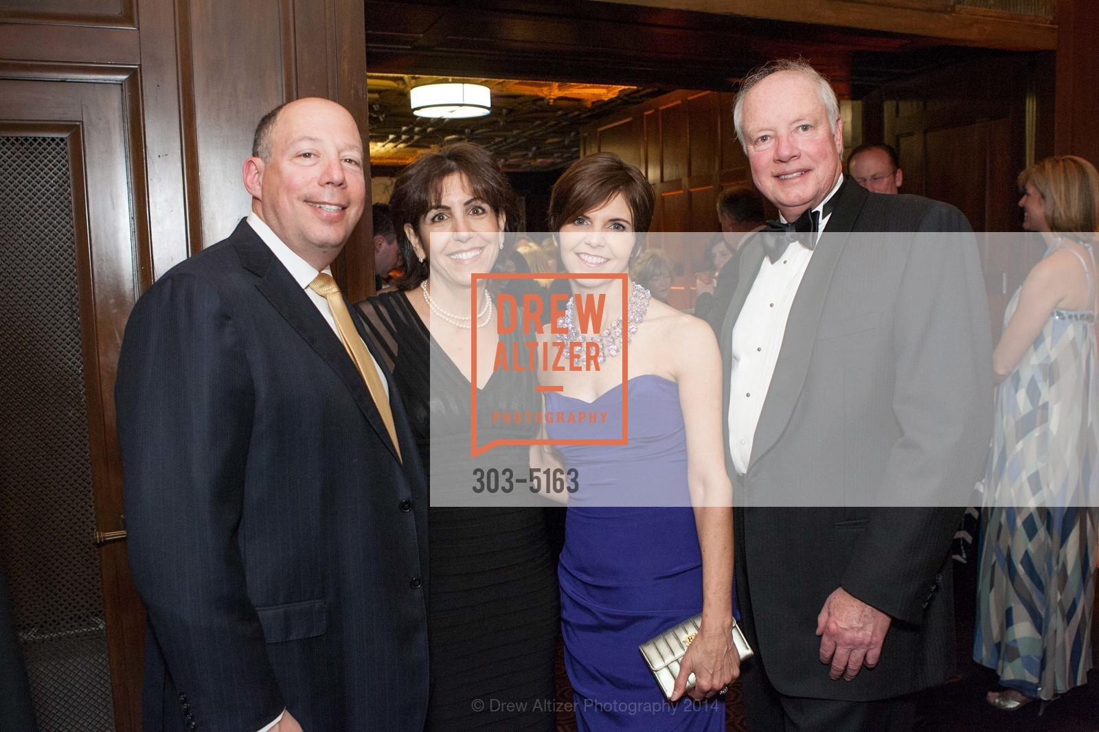 Peter Rosenthal, Patty Rosenthal, Marguerite Feist, Don Feist, Photo #303-5163