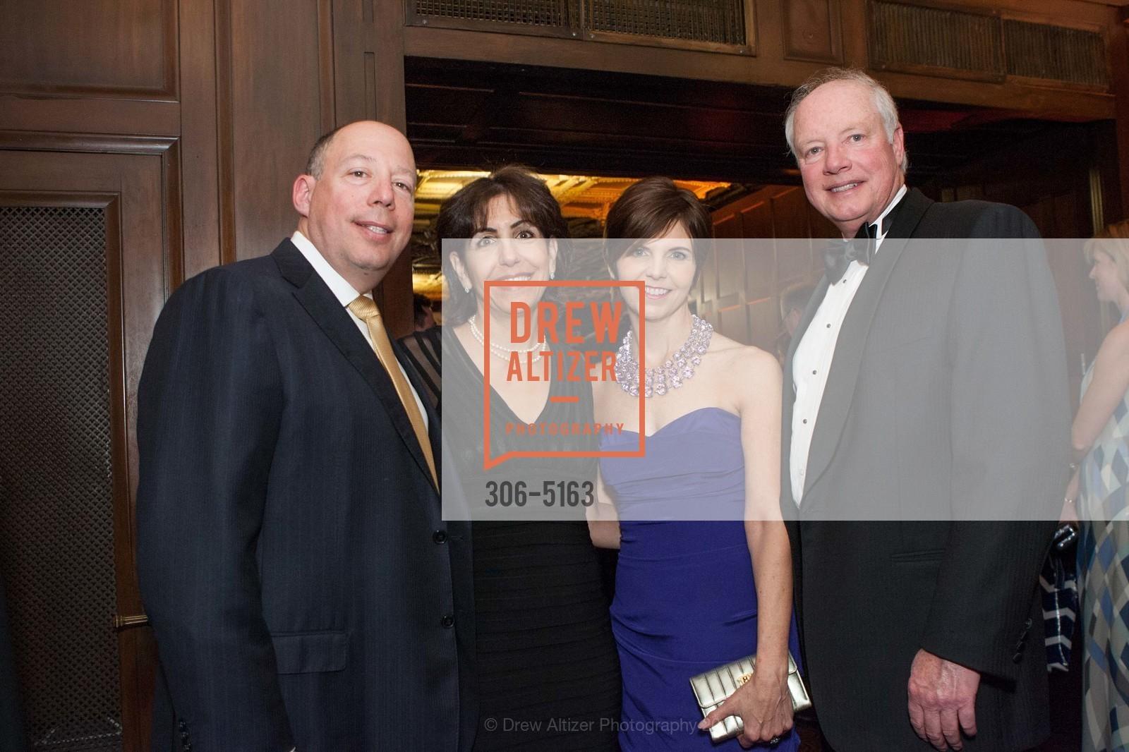 Peter Rosenthal, Patty Rosenthal, Marguerite Feist, Don Feist, Photo #306-5163