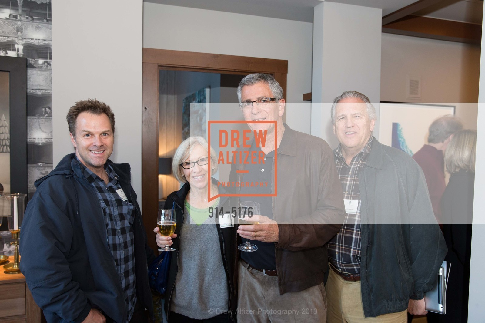 Clark Chuka, Dagny Borchich, John Borchich, Doug Graham, Photo #914-5176