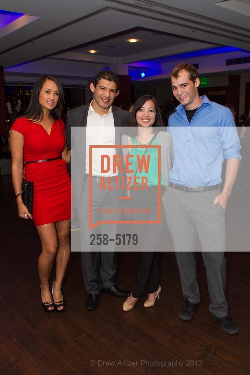 Keri Melendez, Gilbert Melendez, Deirdre Beckingham, Justin Shields, Photo #258-5179