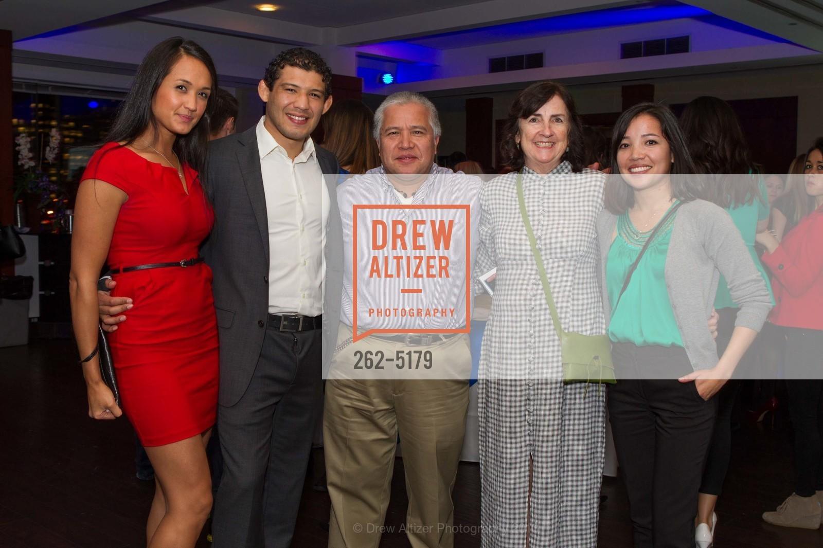 Keri Melendez, Gilbert Melendez, Deirdre Beckingham, Justin Shields, Photo #262-5179