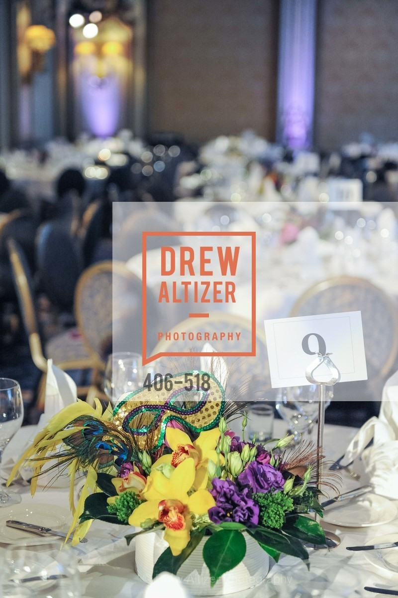 Atmosphere, MEROLA OPERA Spring Benefit 2014:  A Night in New Orleans, US. Fairmont, April 12th, 2014,Drew Altizer, Drew Altizer Photography, full-service event agency, private events, San Francisco photographer, photographer California
