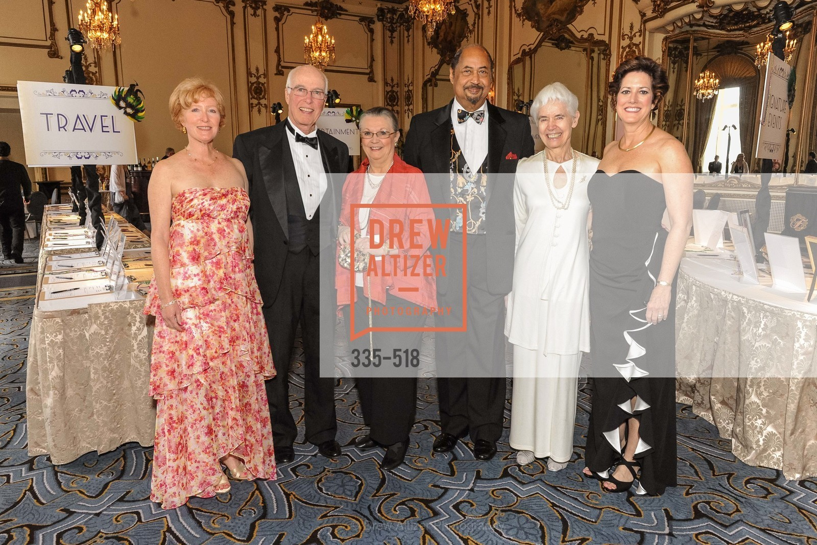Carlyn Clause, David Hugle, Donna Blacker, Conrad Sweeting, Jayne Davis, Jean Kellogg, MEROLA OPERA Spring Benefit 2014:  A Night in New Orleans, US. Fairmont, April 12th, 2014,Drew Altizer, Drew Altizer Photography, full-service agency, private events, San Francisco photographer, photographer california